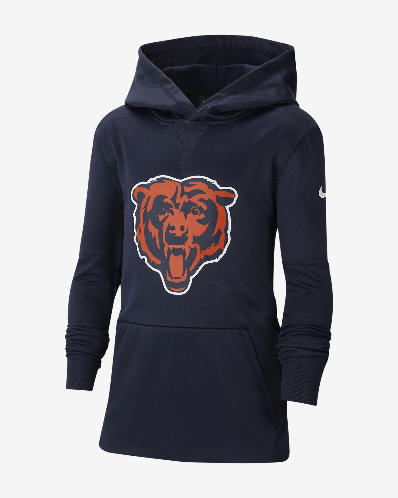 Nike (NFL Bears) Big Kids' Logo Hoodie