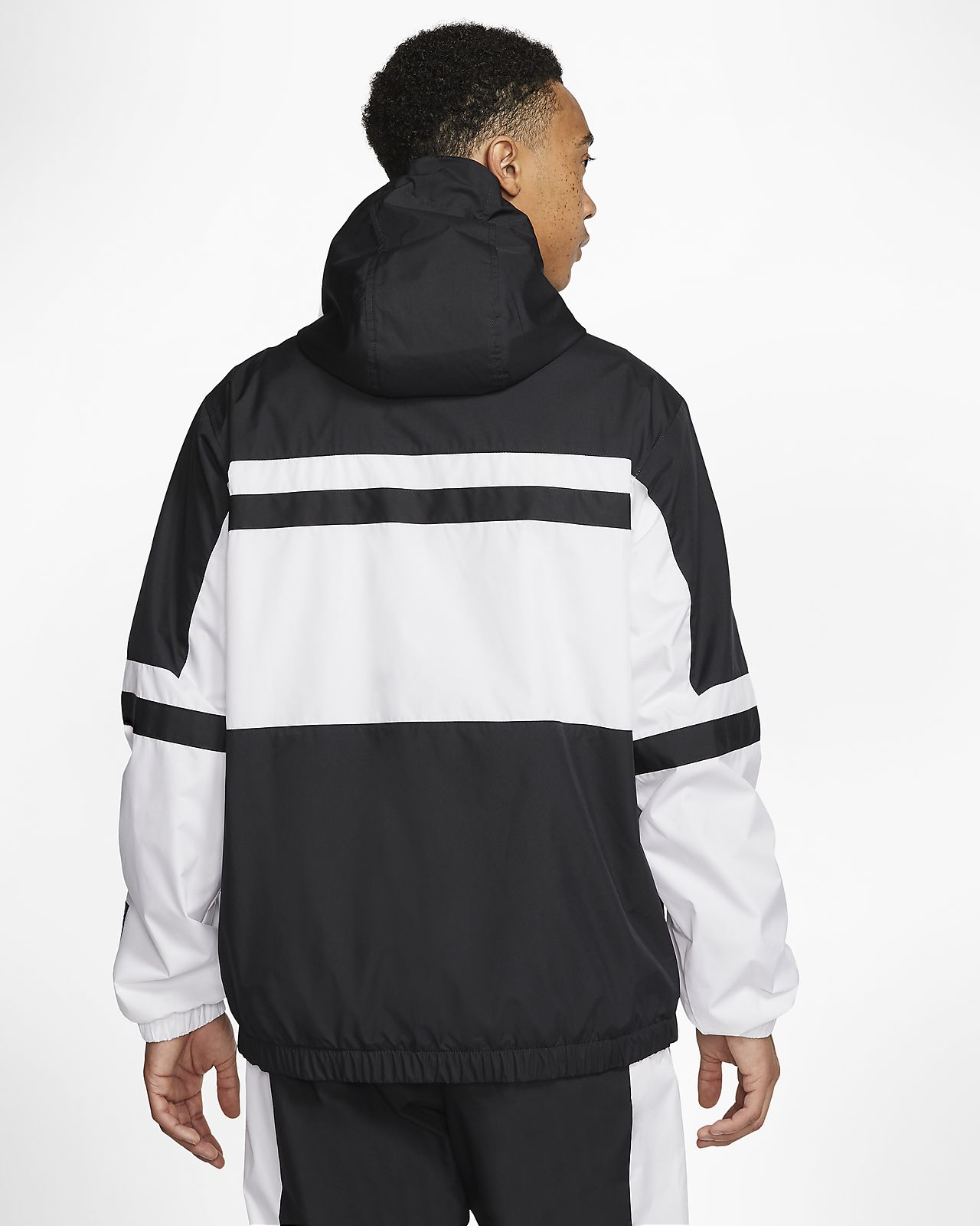AIR WOVEN ANORAK JACKET