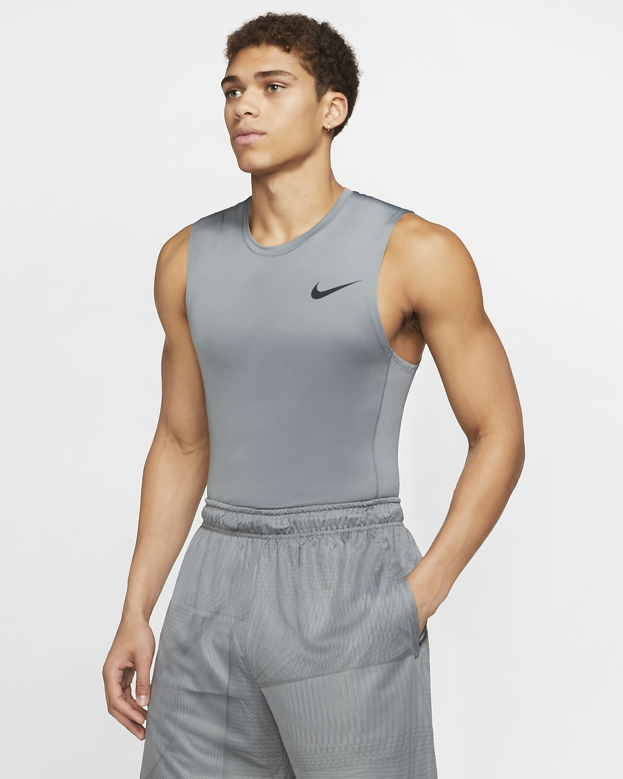 Nike Mens Activewear  Top Sleeveless Size Small
