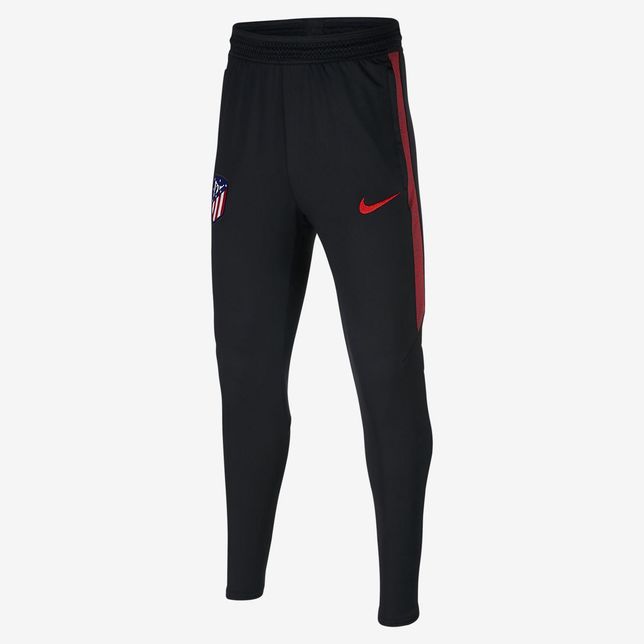 Nike Dri-FIT Atlético de Madrid Strike futballnadrág nagyobb gyerekeknek
