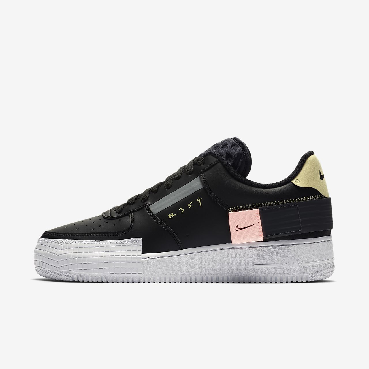 nike air force one low schwarz