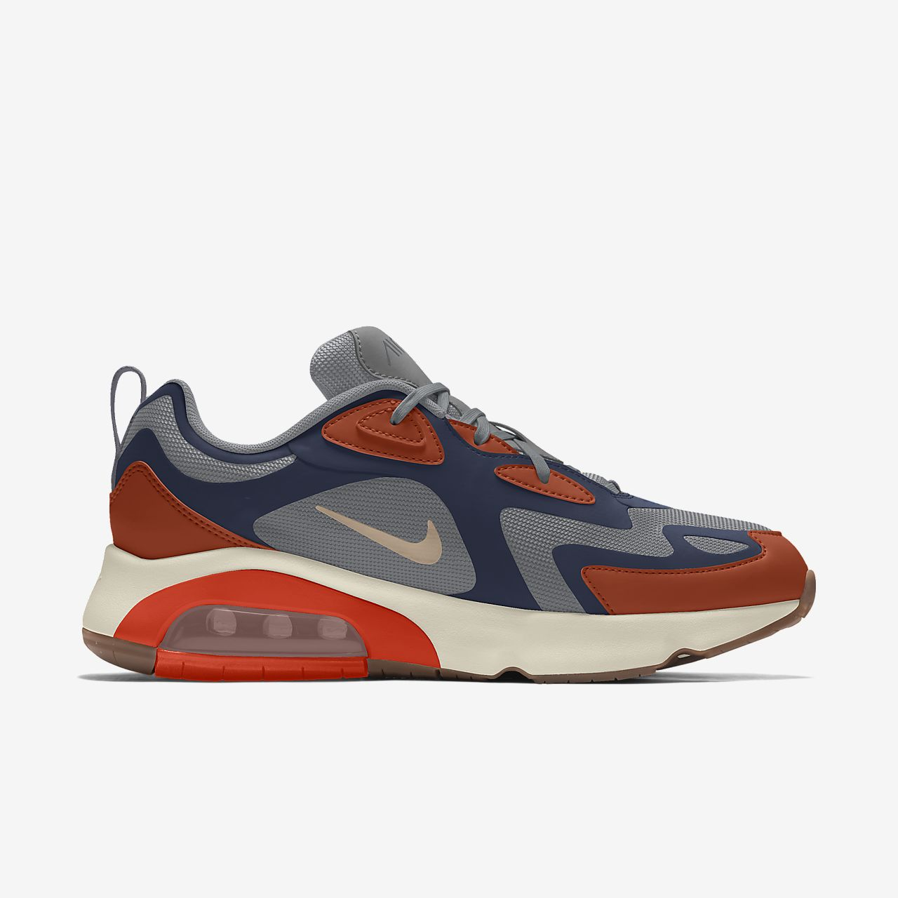 Chaussure personnalisable Nike Air Max 200 By You pour Homme