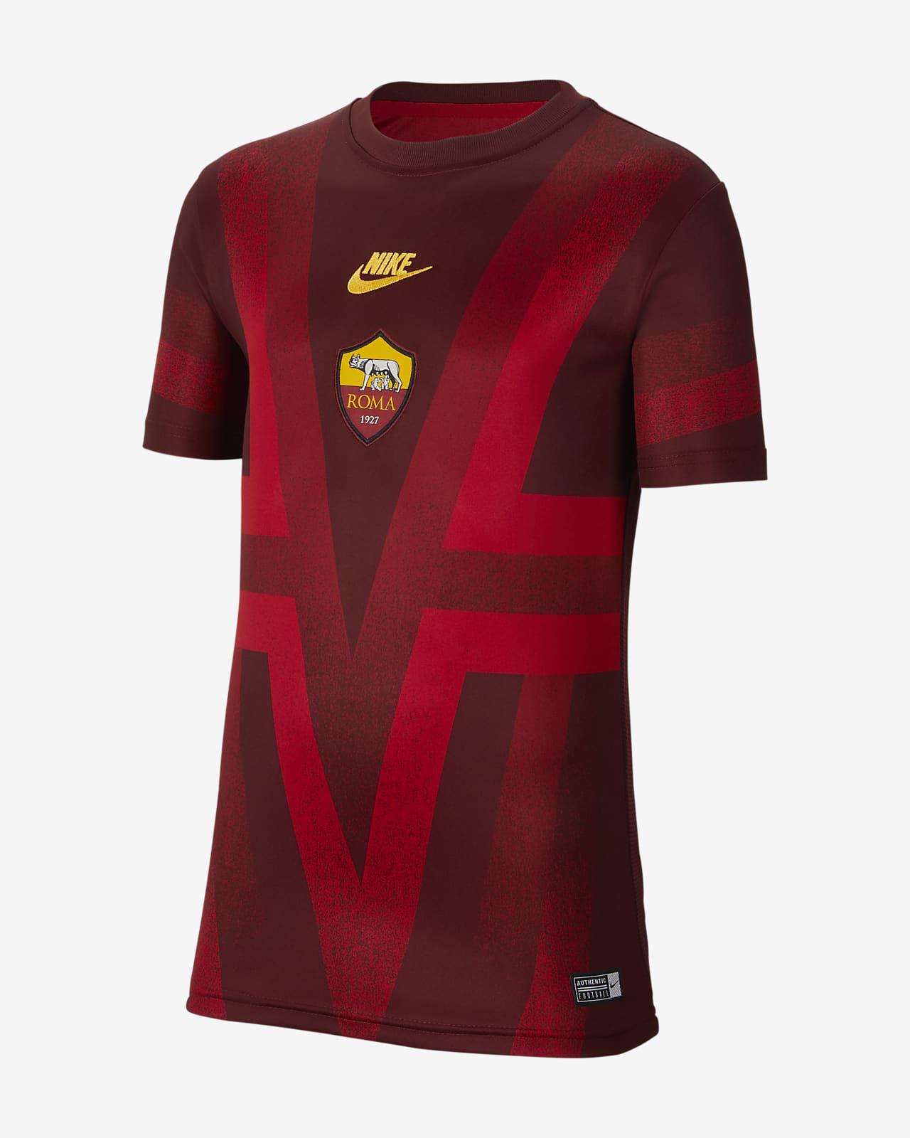 A.S. Roma Older Kids' Short-Sleeve Football Top