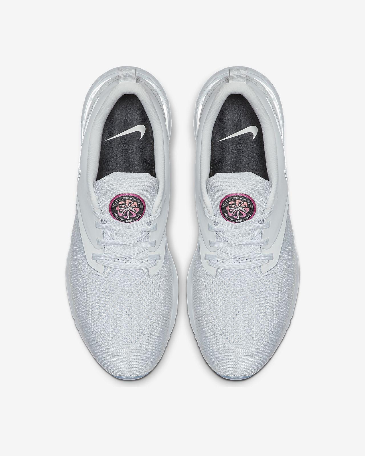 Men Nike Odyssey React Flyknit Black Running Shoes Nike