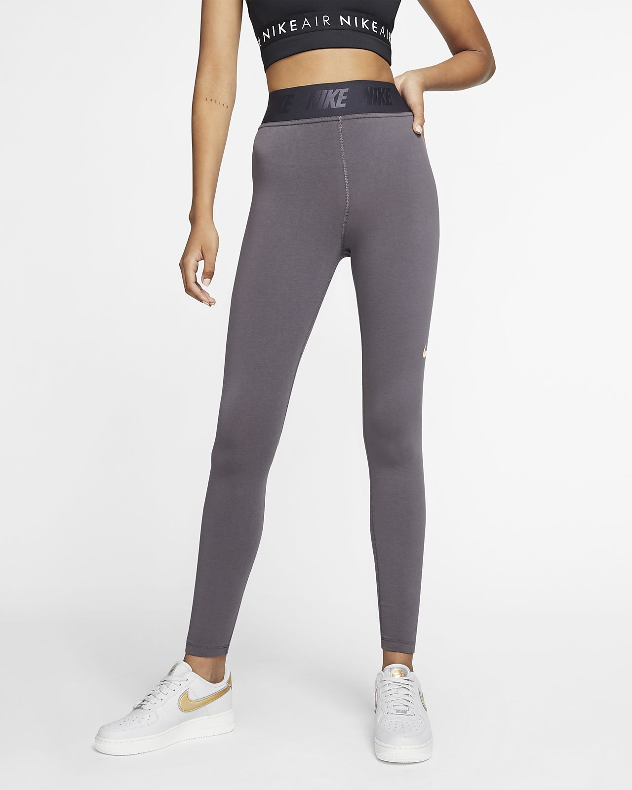 Leggings de tiro alto para mujer Nike Sportswear Leg-A-See Maria Sharapova x la Cortez