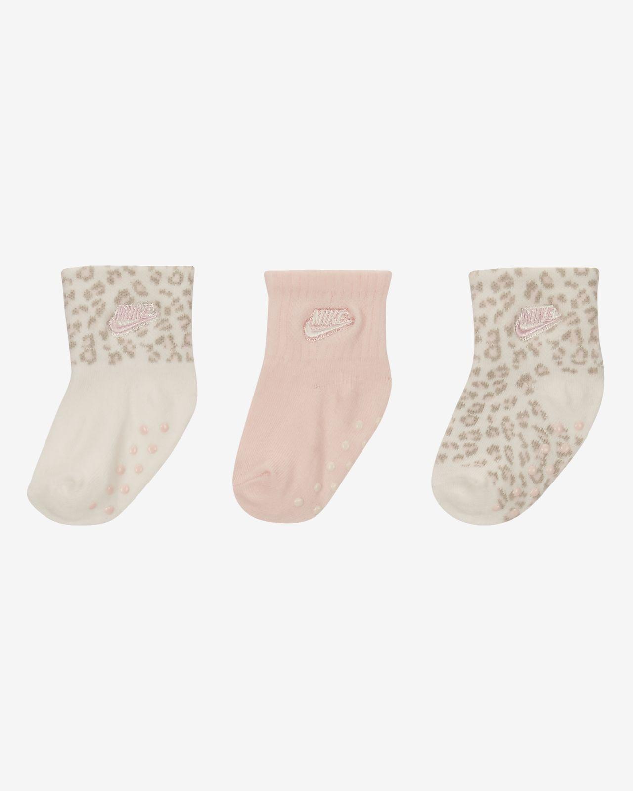 Nike Toddler Gripper Ankle Socks (3 Pairs)