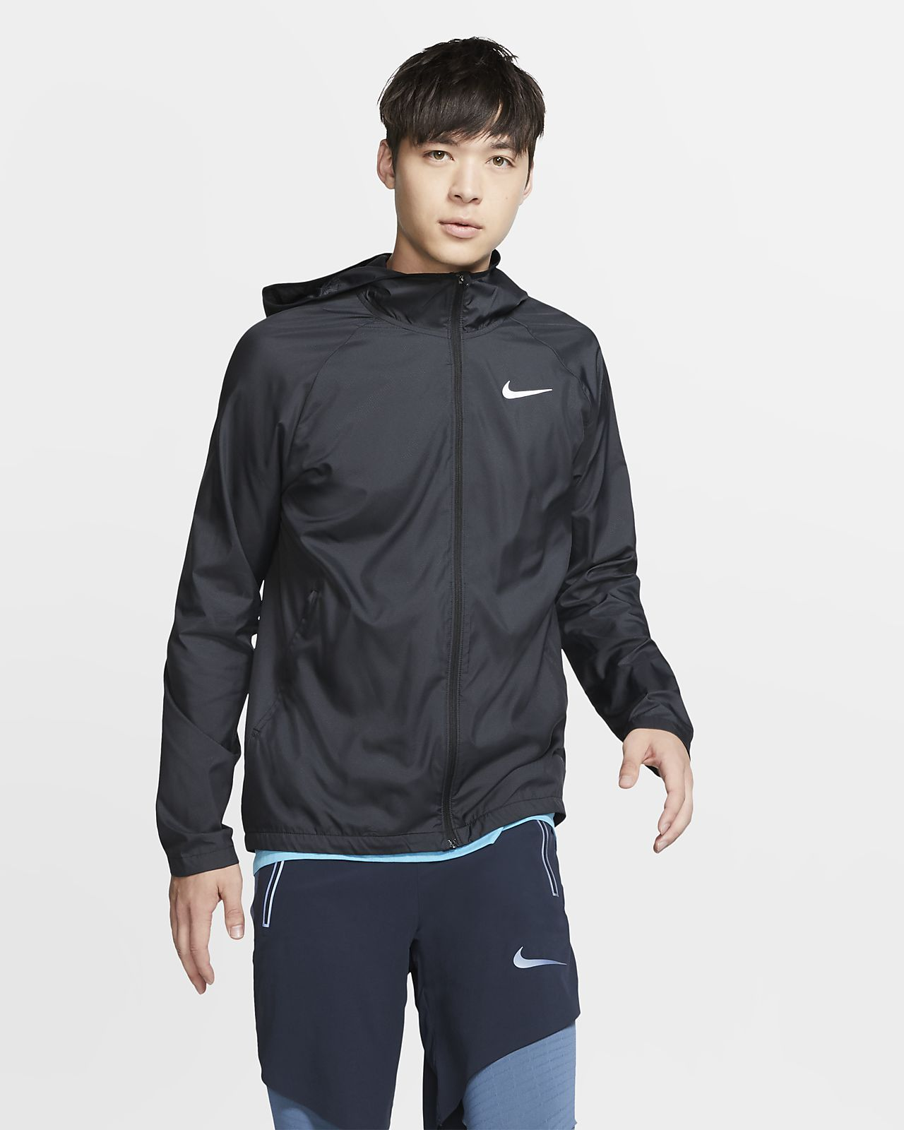 Details about Nike Essential Flash Women's Running Jacket (Black, small)