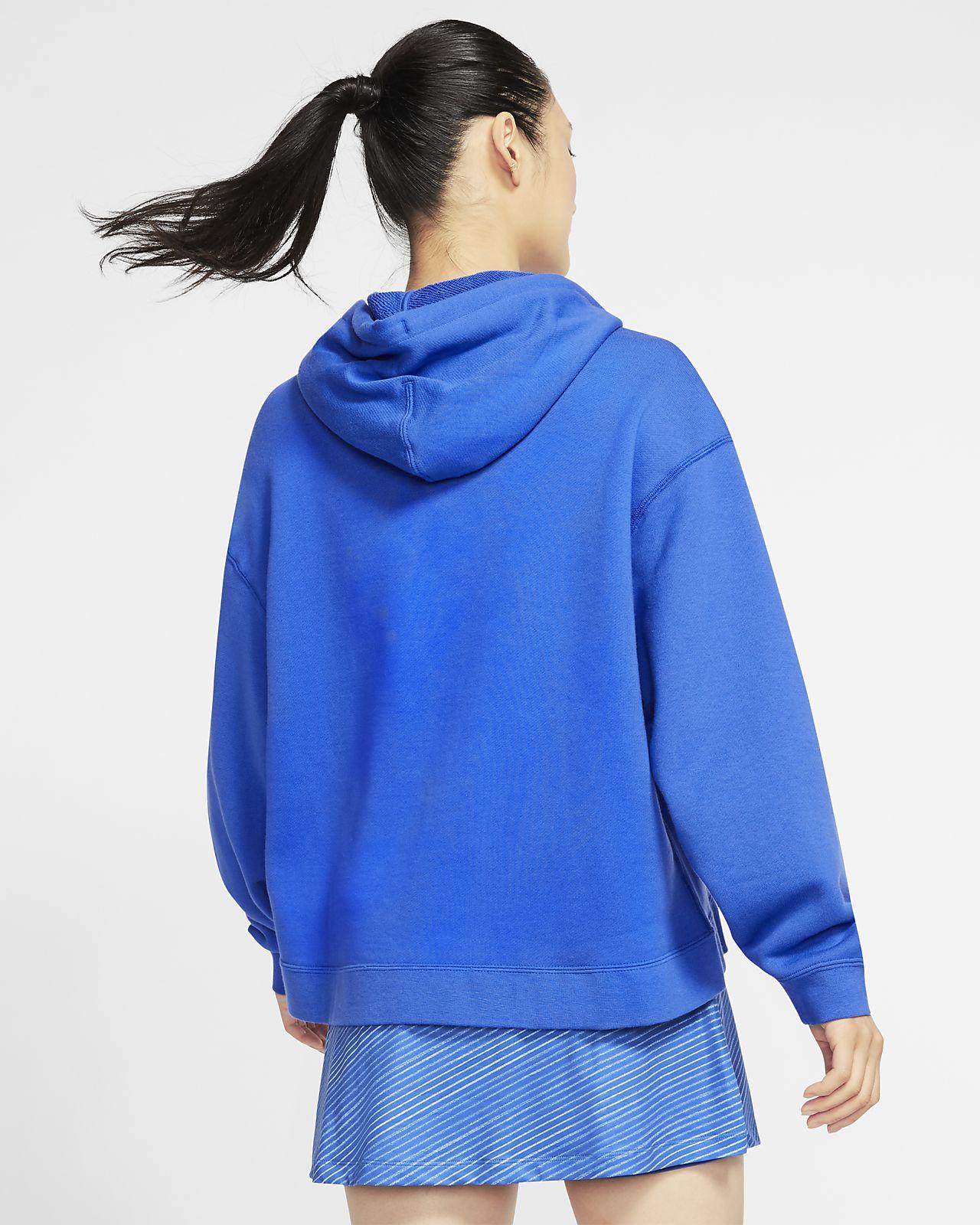 pull nike femme bleu
