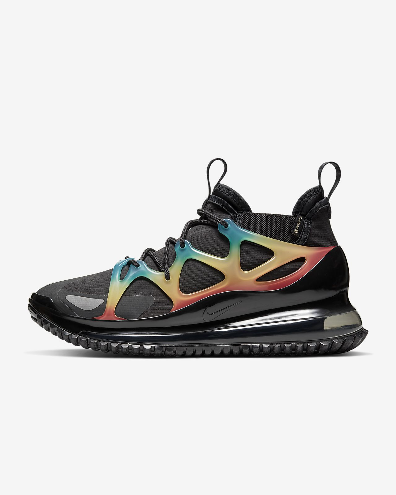 Nike Air Max 270 Black Laser Orange