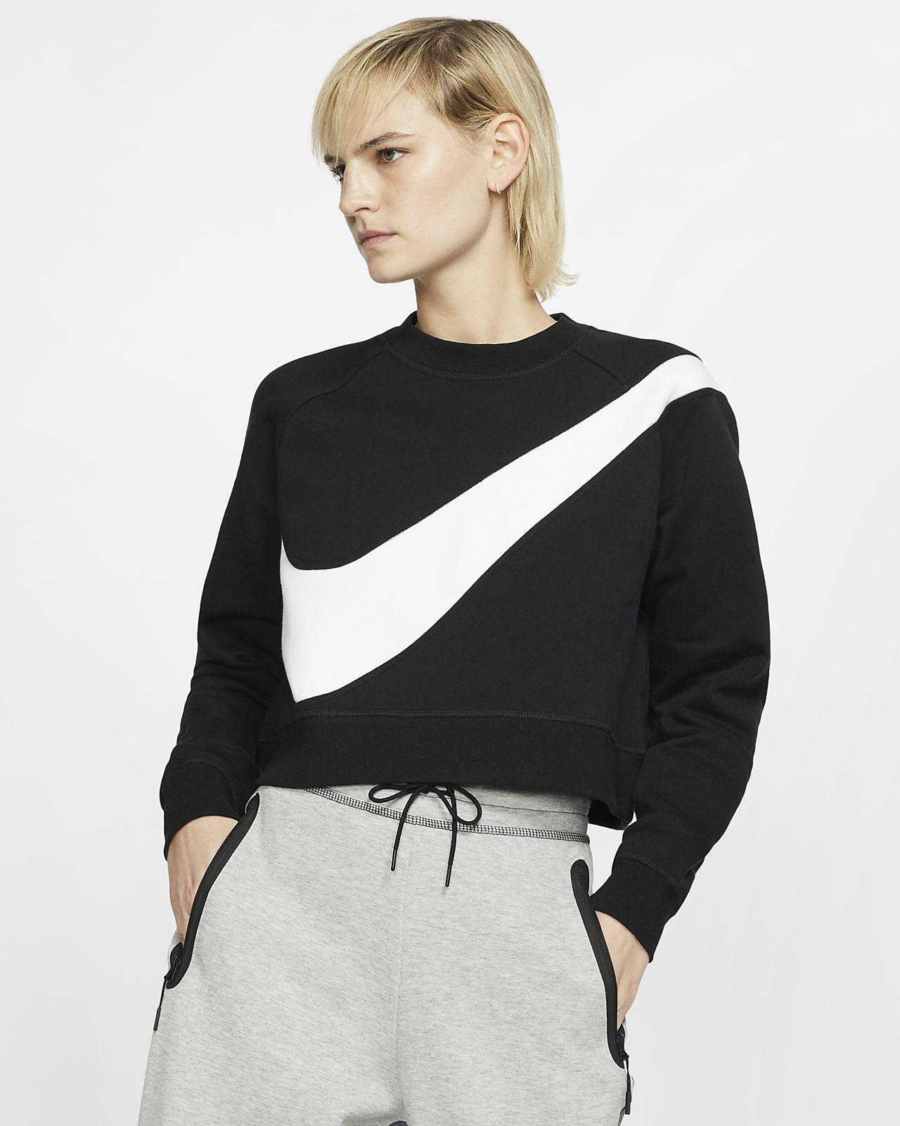 Nike Sportswear Bluza Odzież Damska YV biały