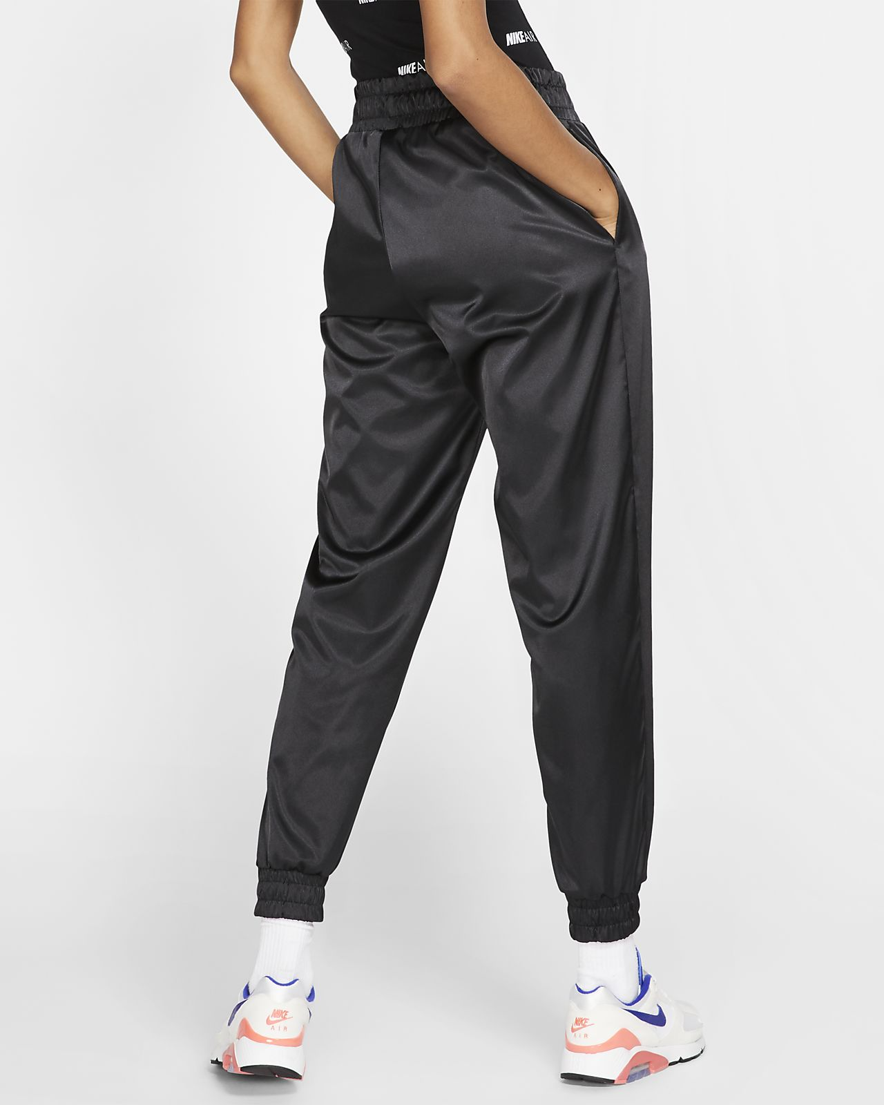 Nike Air Women's Satin Tracksuit Bottoms. Nike AT