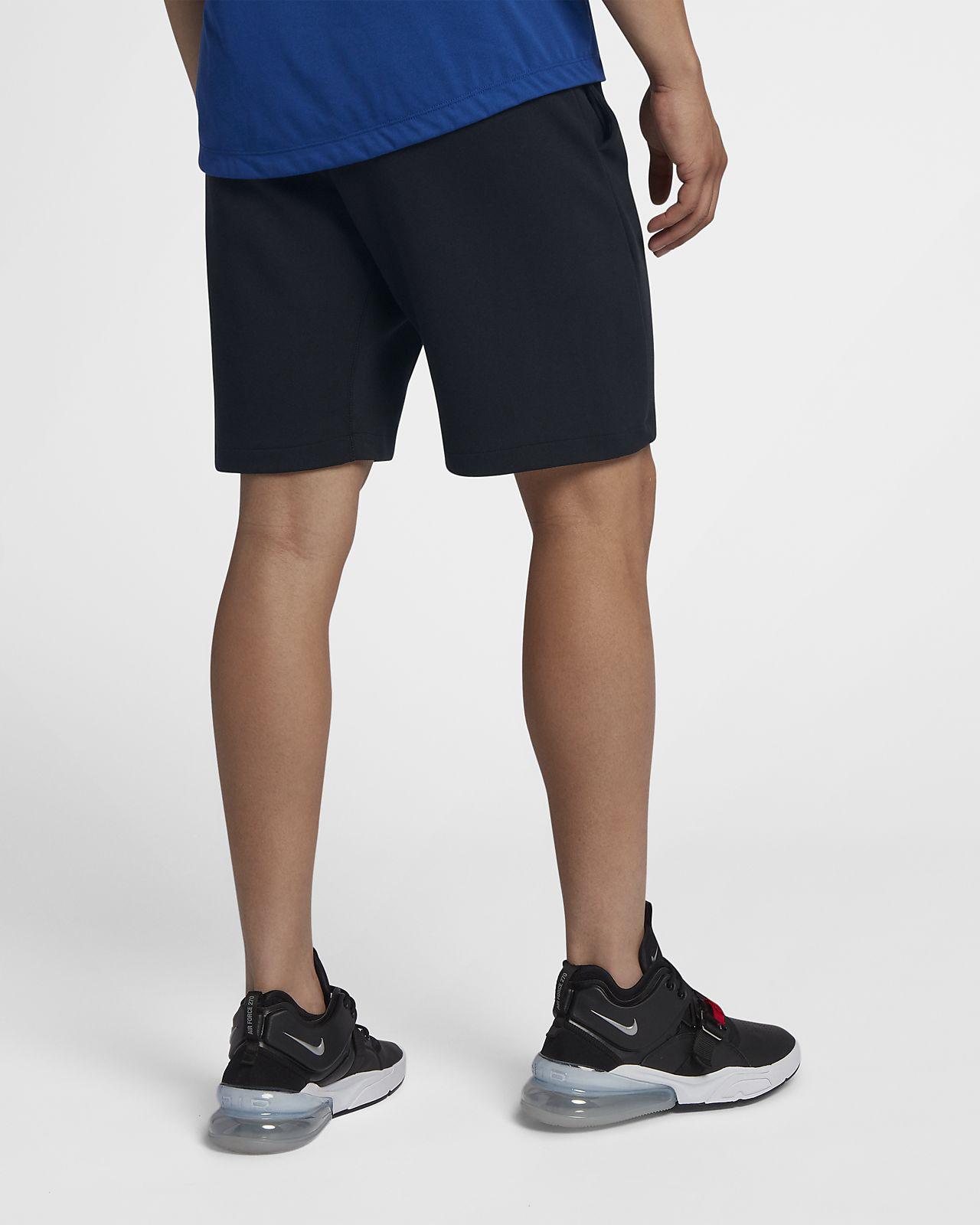 nike shorts fleece mens
