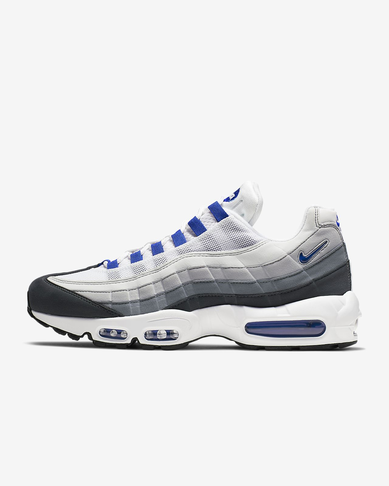 air max 95 blue white