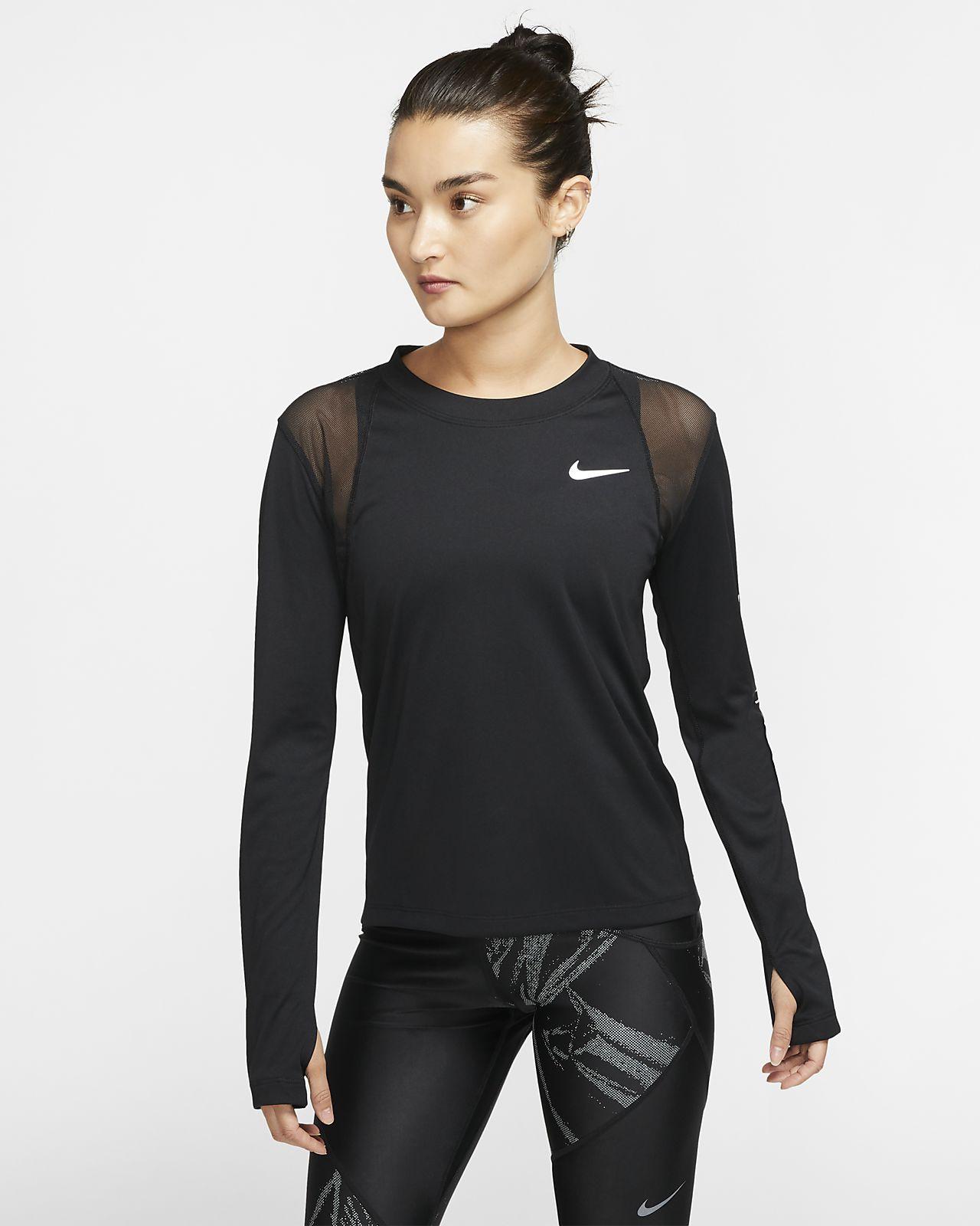 Nike Dri-FIT Miler 女款長袖跑步上衣