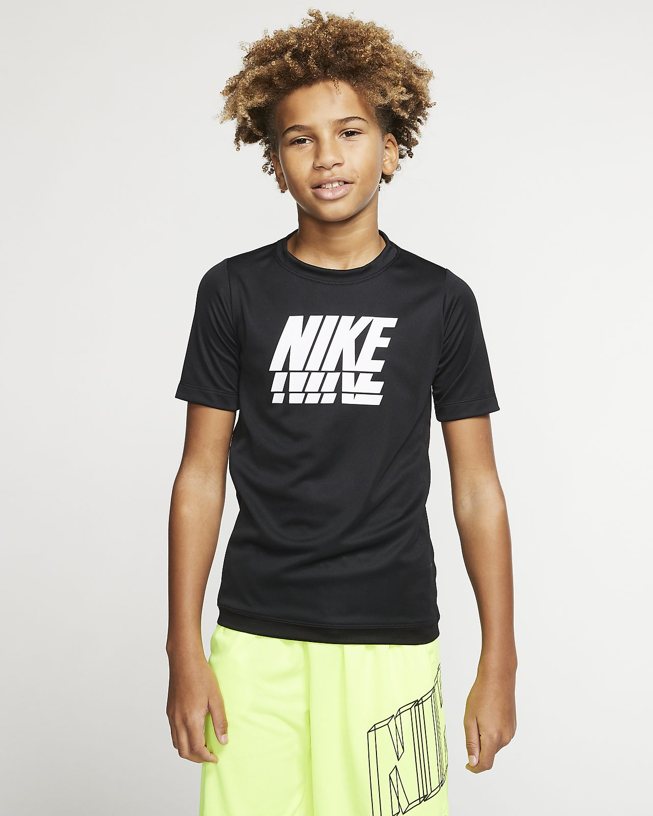 Nike Trophy Big Kids' (Boys') Short-Sleeve Graphic Training Top