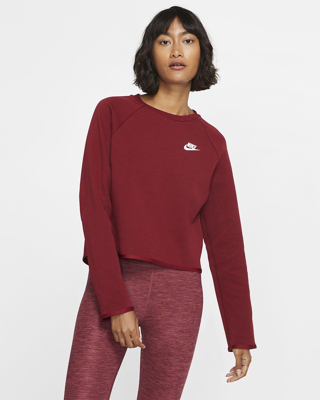 Maglia a girocollo Nike Sportswear Tech Fleece - Donna
