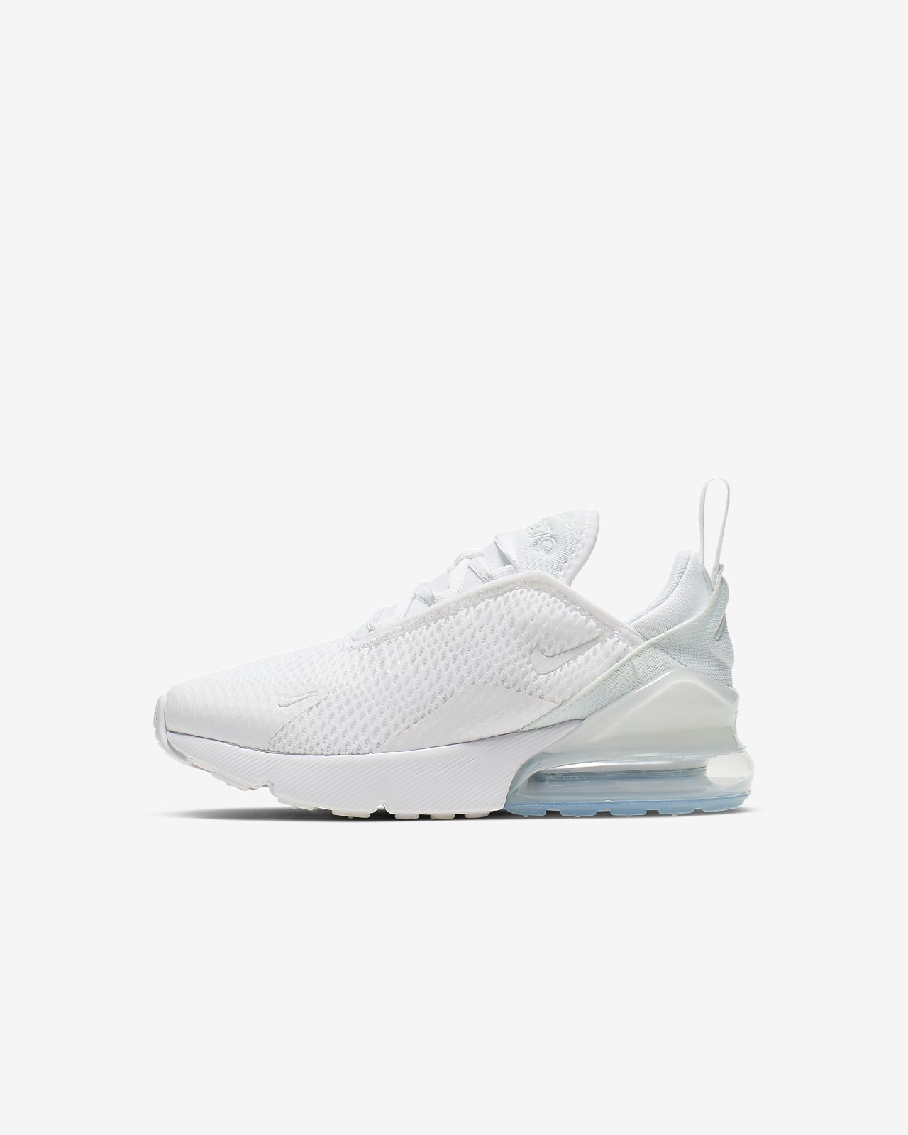 Kids White Nike Air Max 270 | Life Style Sports