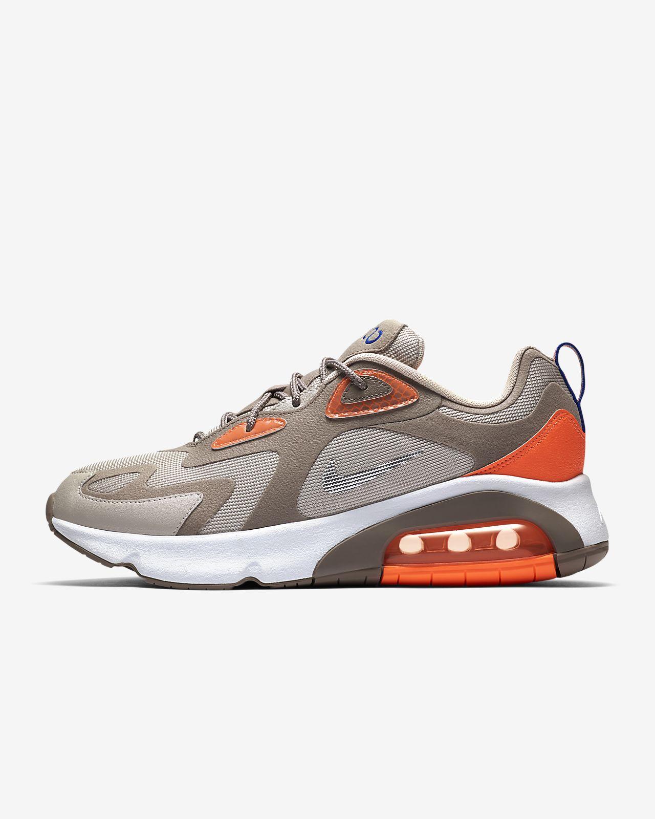 chaussures nike air orange