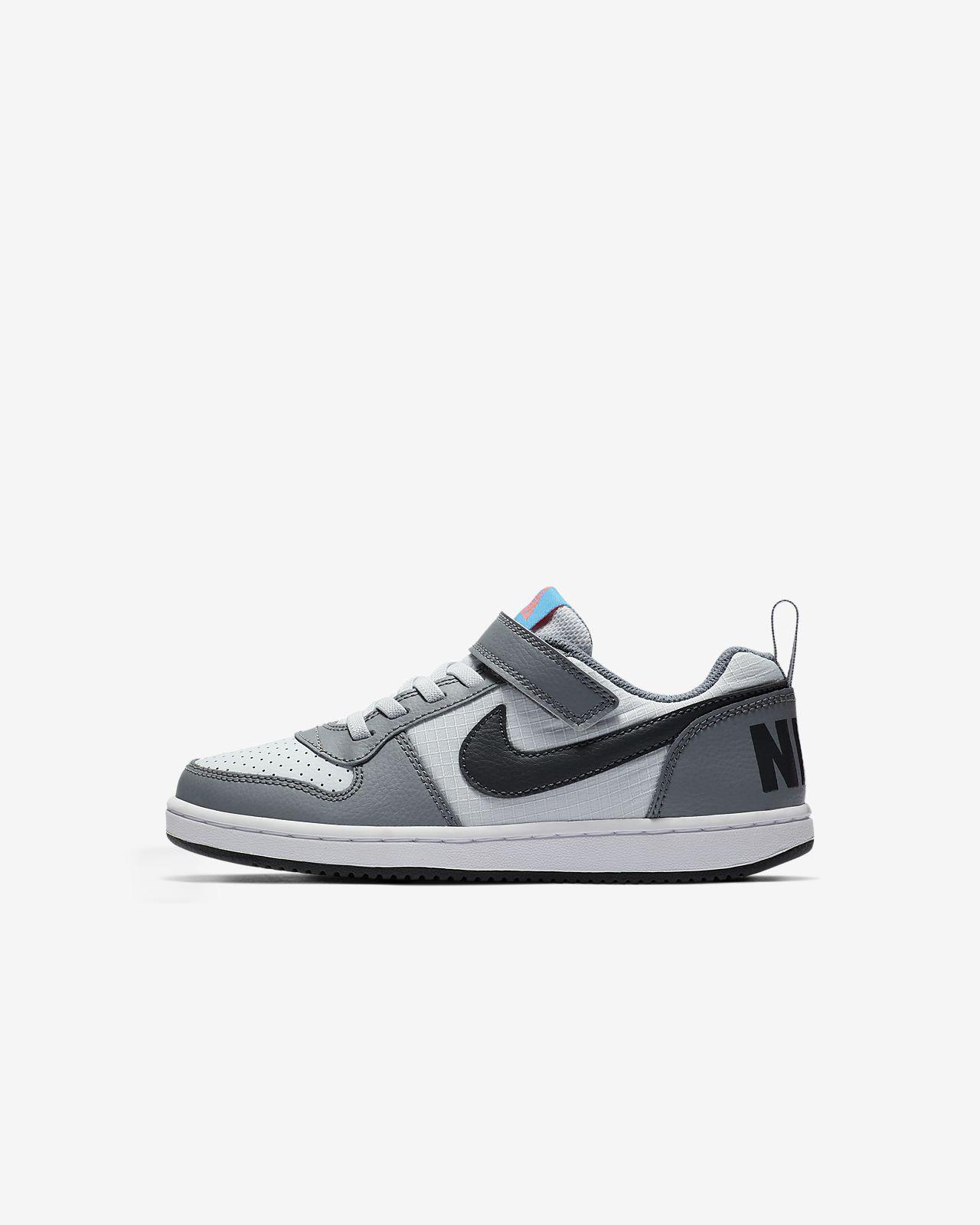 NikeCourt Borough Low Younger Kids' Shoe