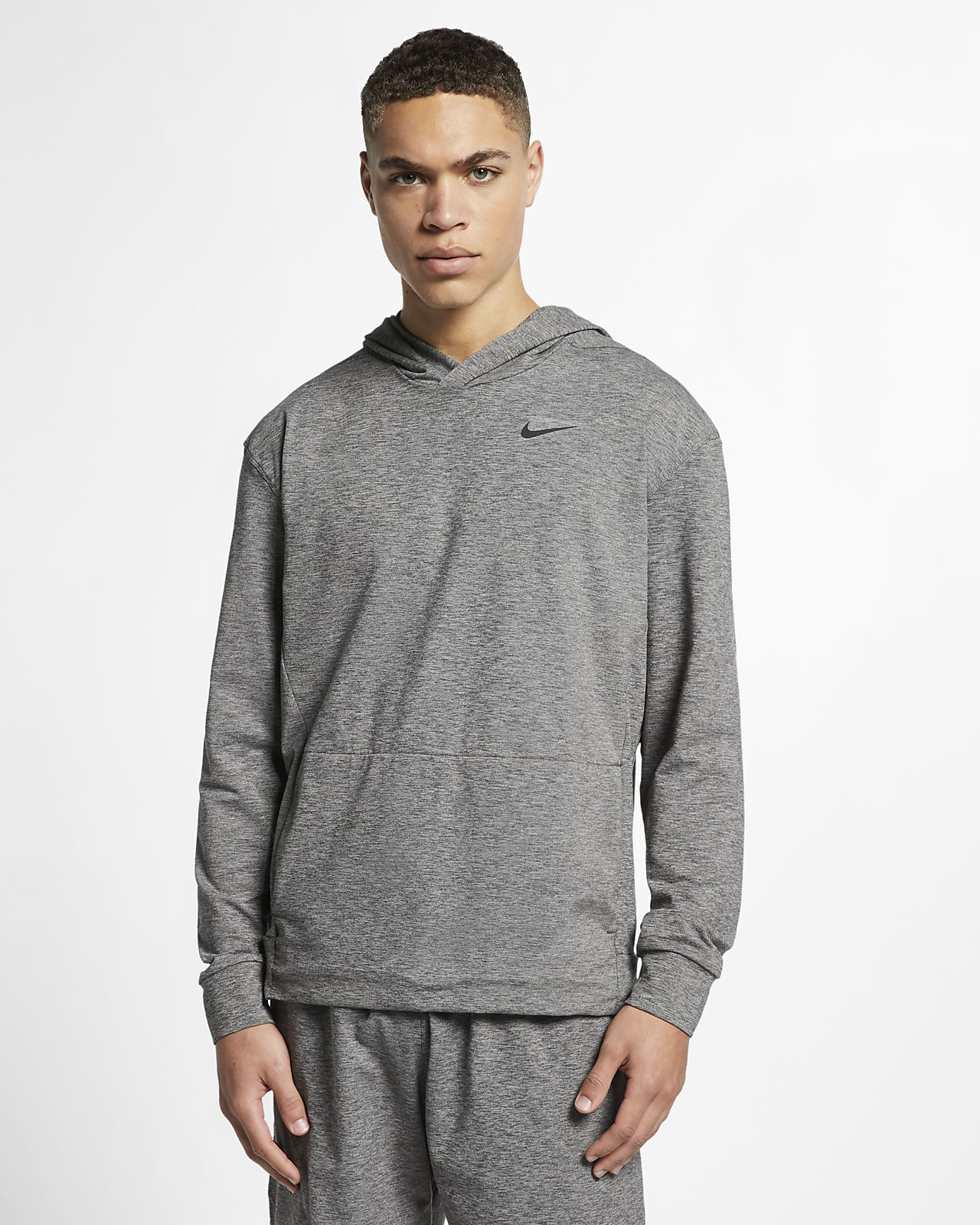 Nike Dri-FIT langärmeliger Yoga-Trainings-Hoodie für Herren