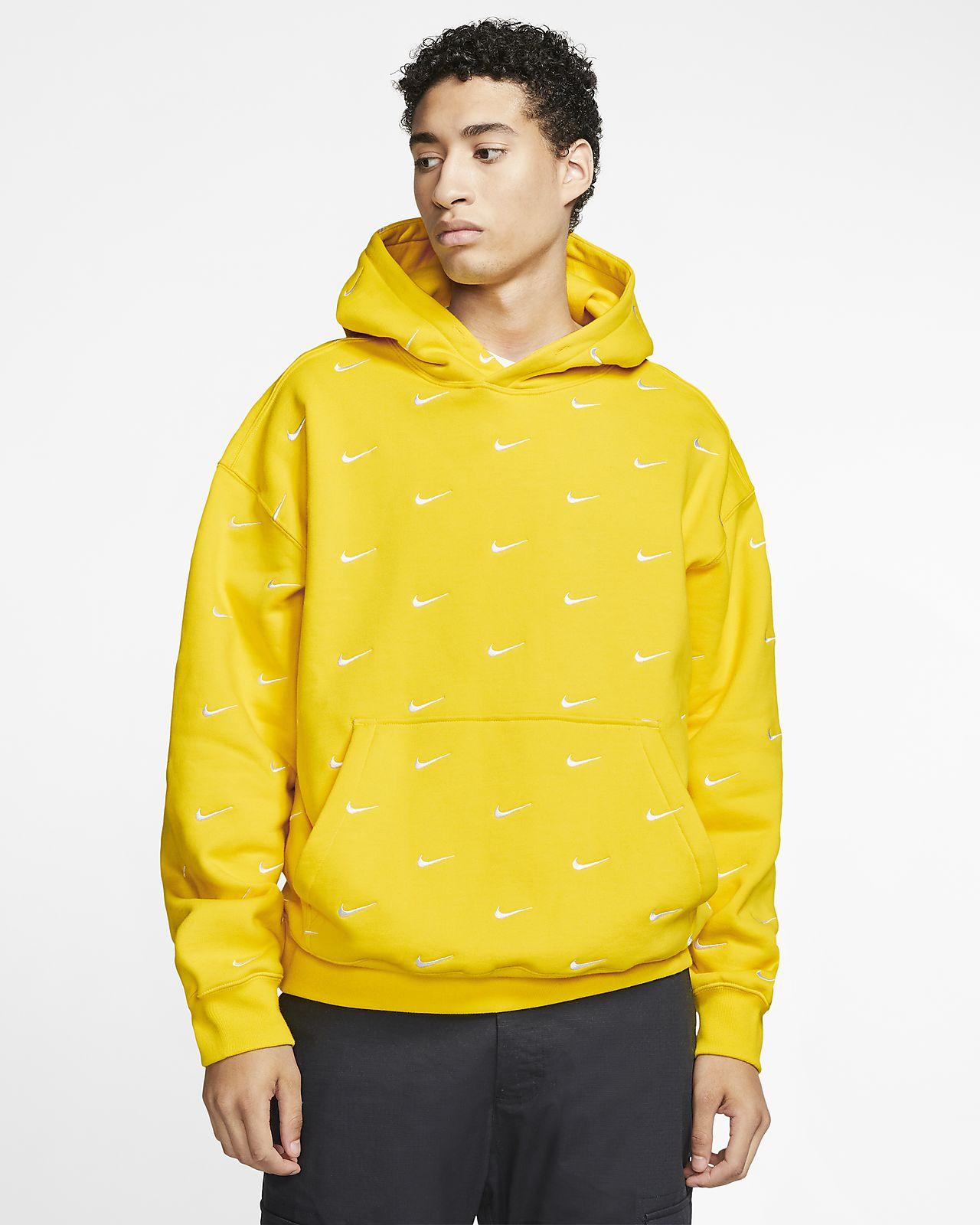 nike hoodie zip up mens