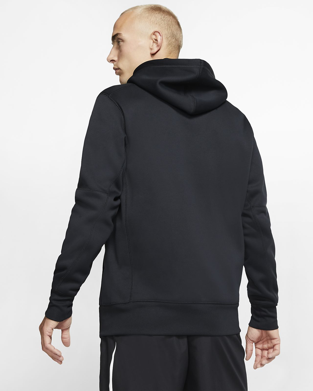 nike 3/4 baseball hoodie