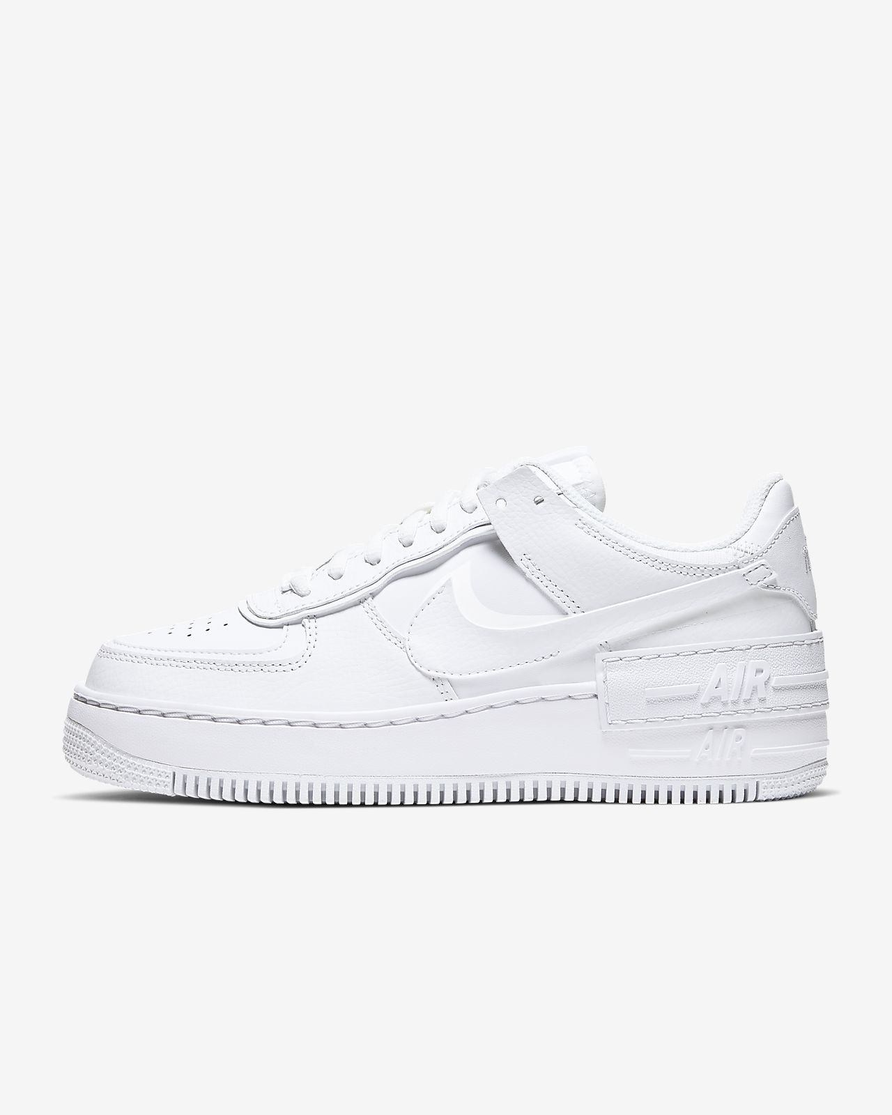 nike air force 1 shadow bianche e nere