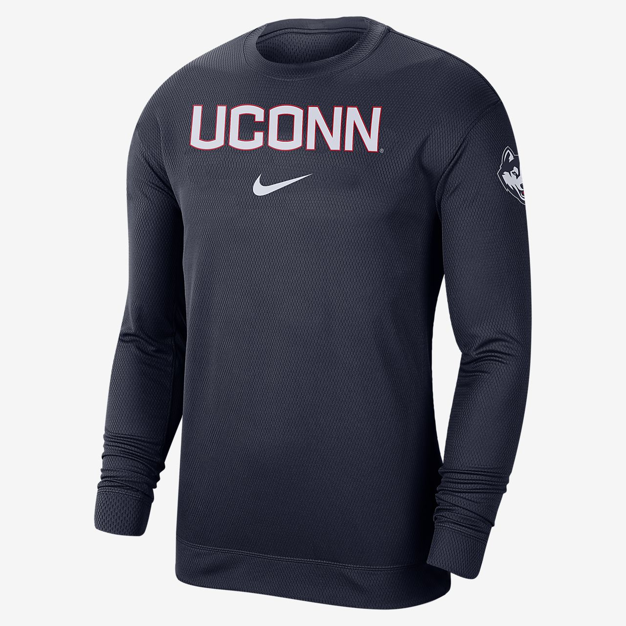 Nike College Dri-FIT Spotlight (UConn) Men's Long-Sleeve Top
