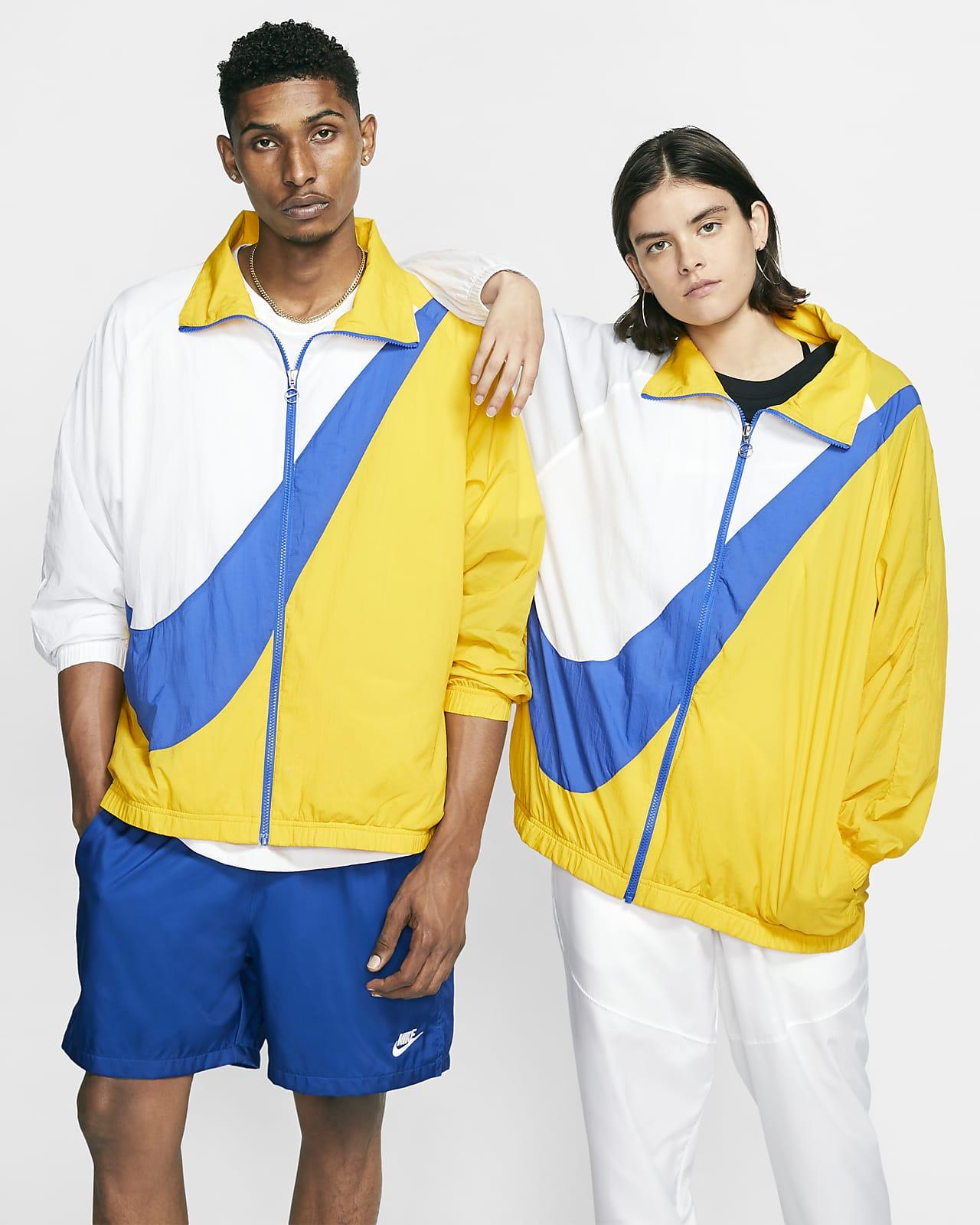 Kurtka z tkaniny z logo Swoosh Nike Sportswear