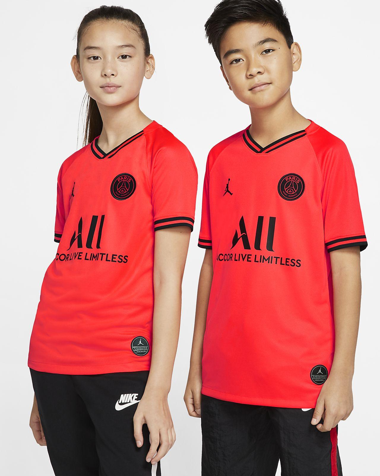 Maillot de football Jordan x Paris Saint-Germain 2019/20 Stadium Away pour Enfant plus âgé