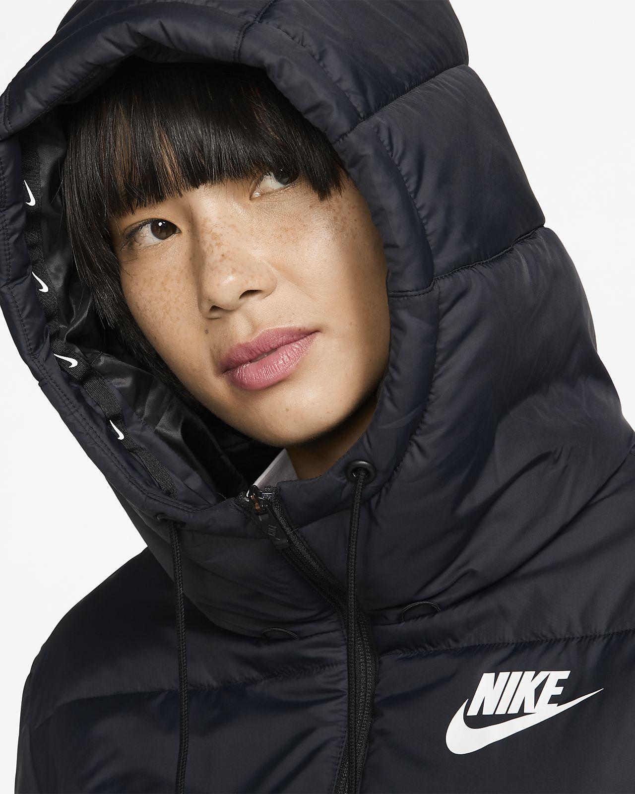 Nike Sportswear Synthetic Fill Reversible Hooded Hvit