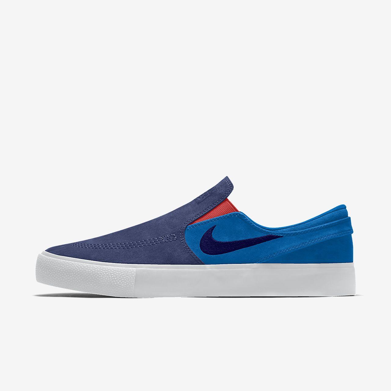 Nike SB Zoom Stefan Janoski Slip RM By You 专属定制滑板鞋