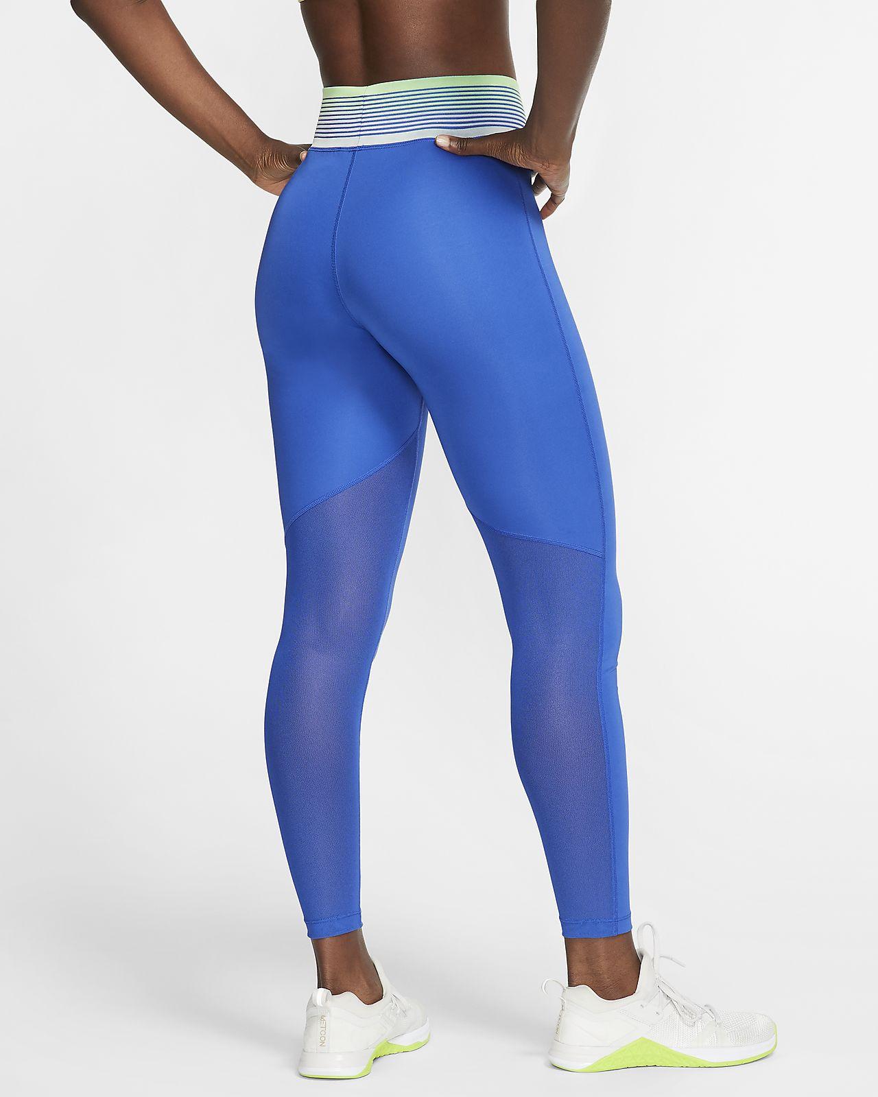 legging nike bleu femme