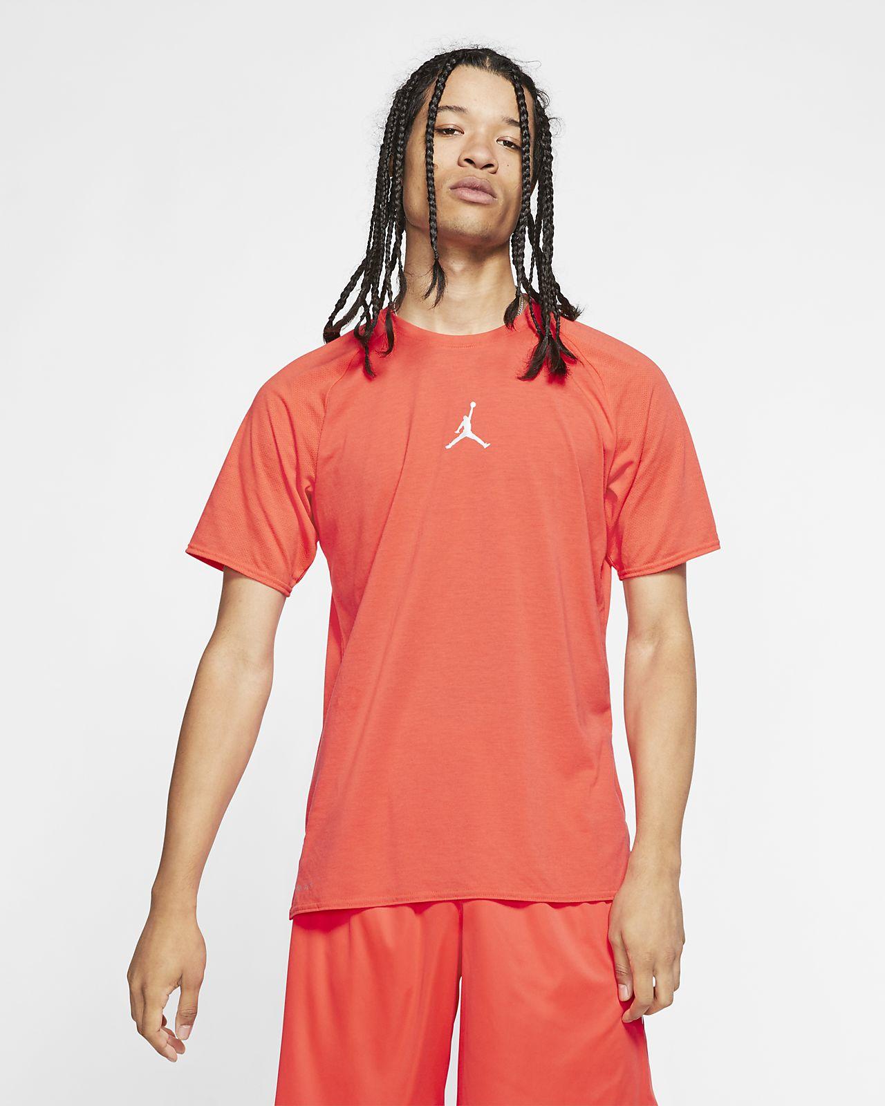 Jordan 23 Alpha 男款短袖訓練上衣