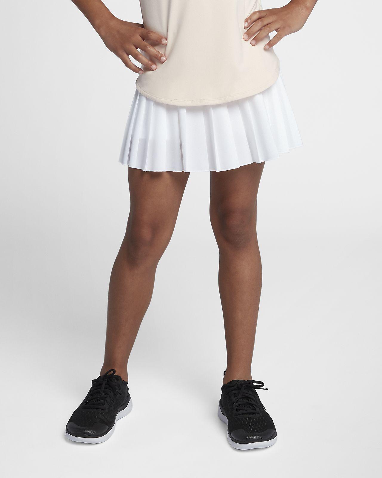 Saia de ténis NikeCourt Victory Júnior (Rapariga)