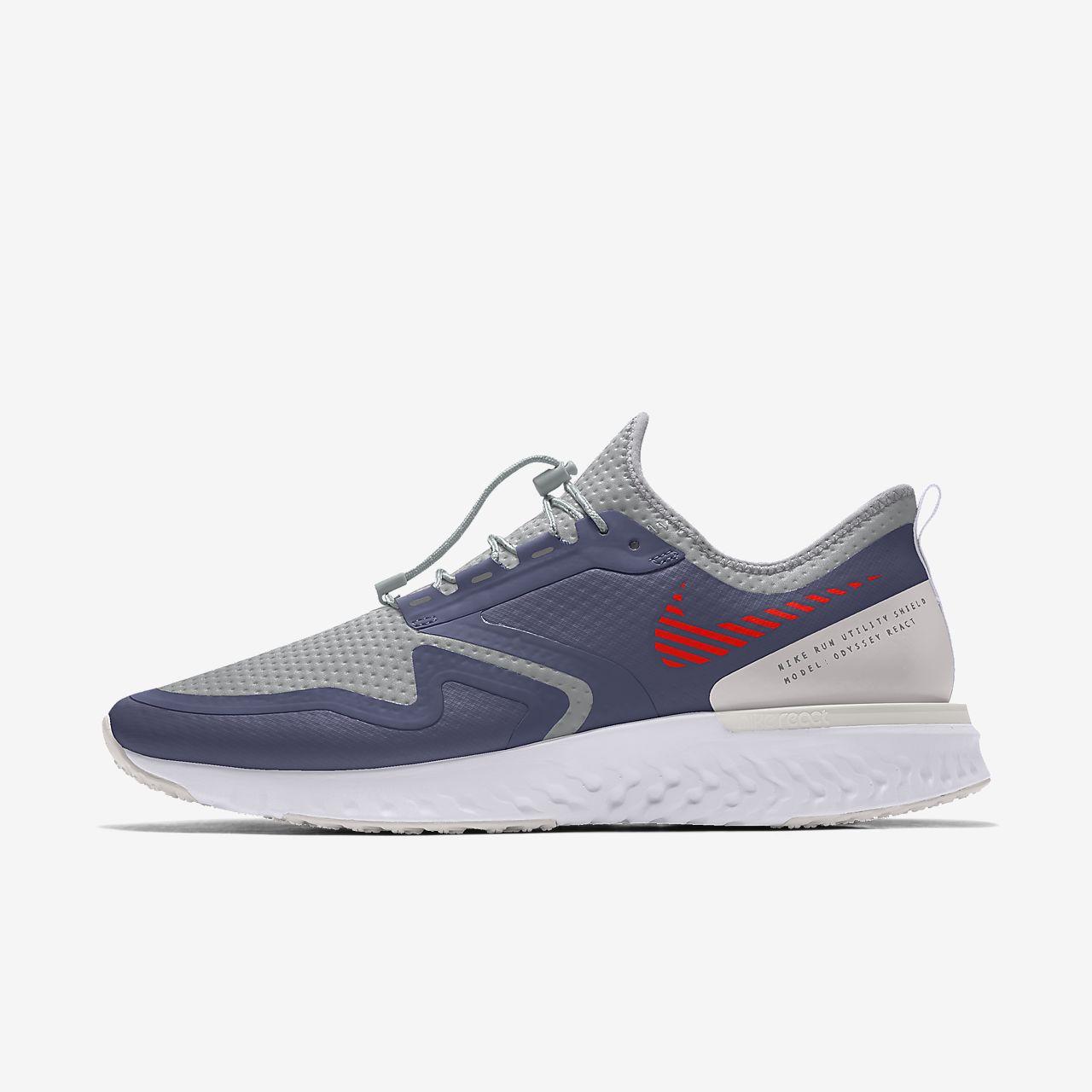 Nike Odyssey React Shield By You Custom Women's Running Shoe