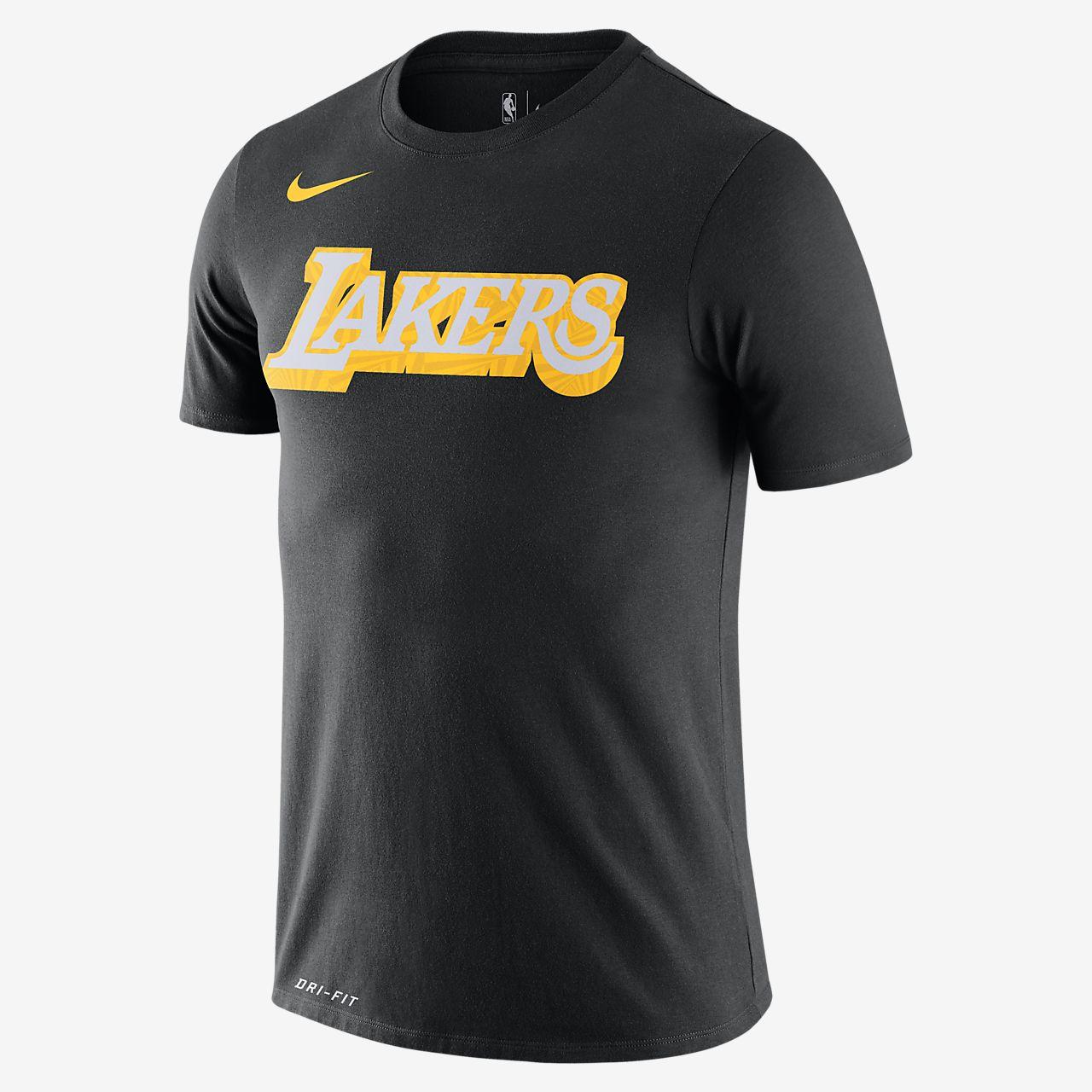 lakers t shirt nike