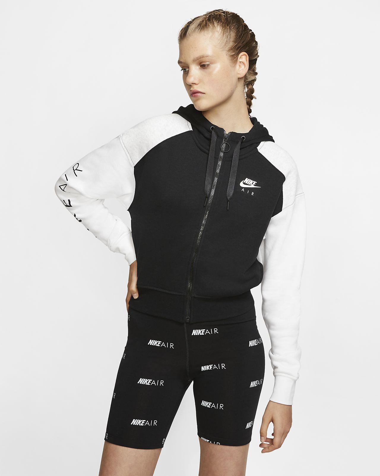 Sweat à capuche entièrement zippé Nike Air pour Femme
