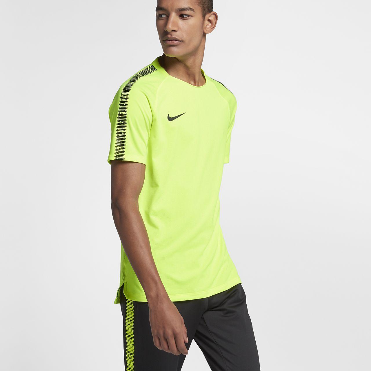 Nike Breathe Squad Men's Short-Sleeve Football Top