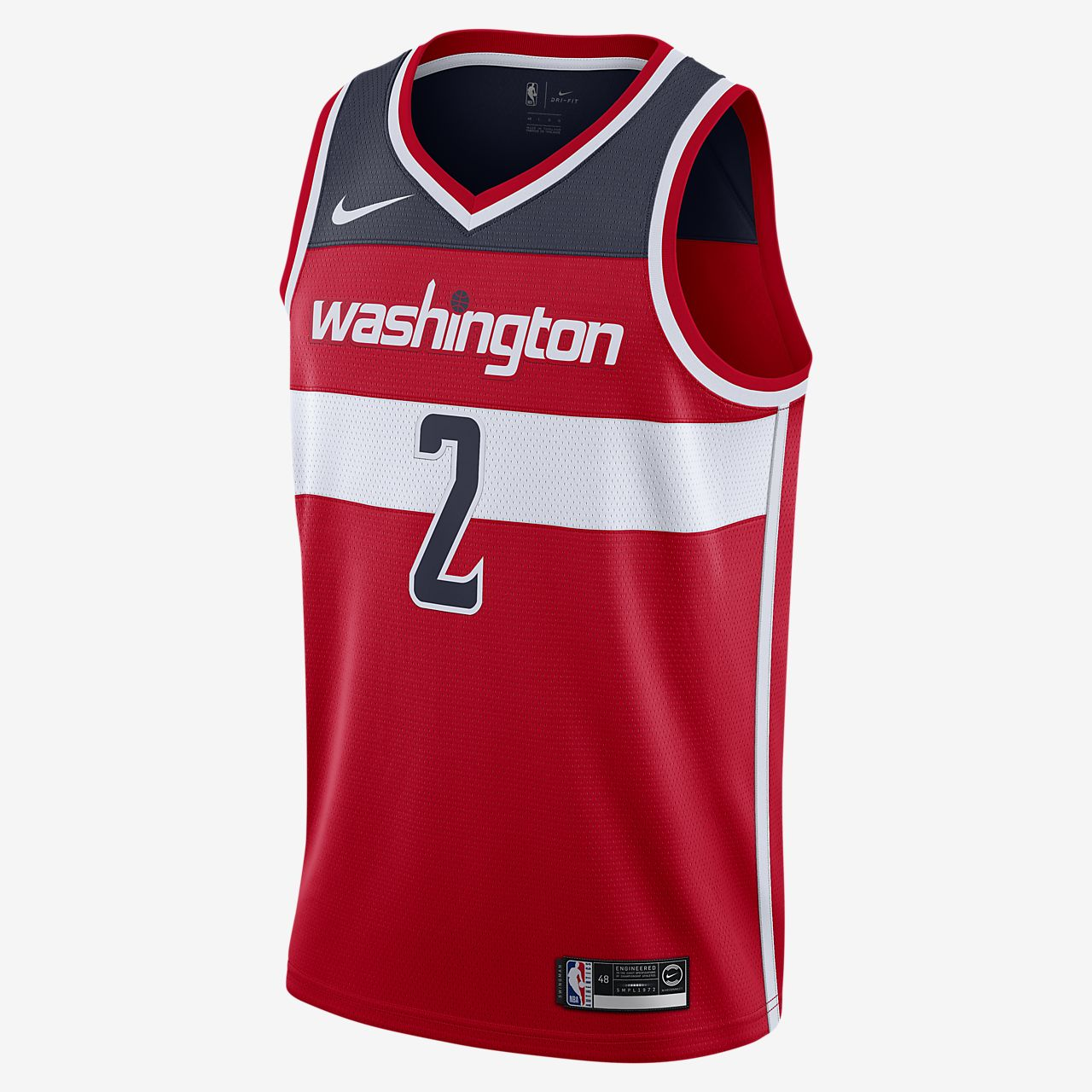 John Wall Wizards Icon Edition Nike NBA Swingman Jersey