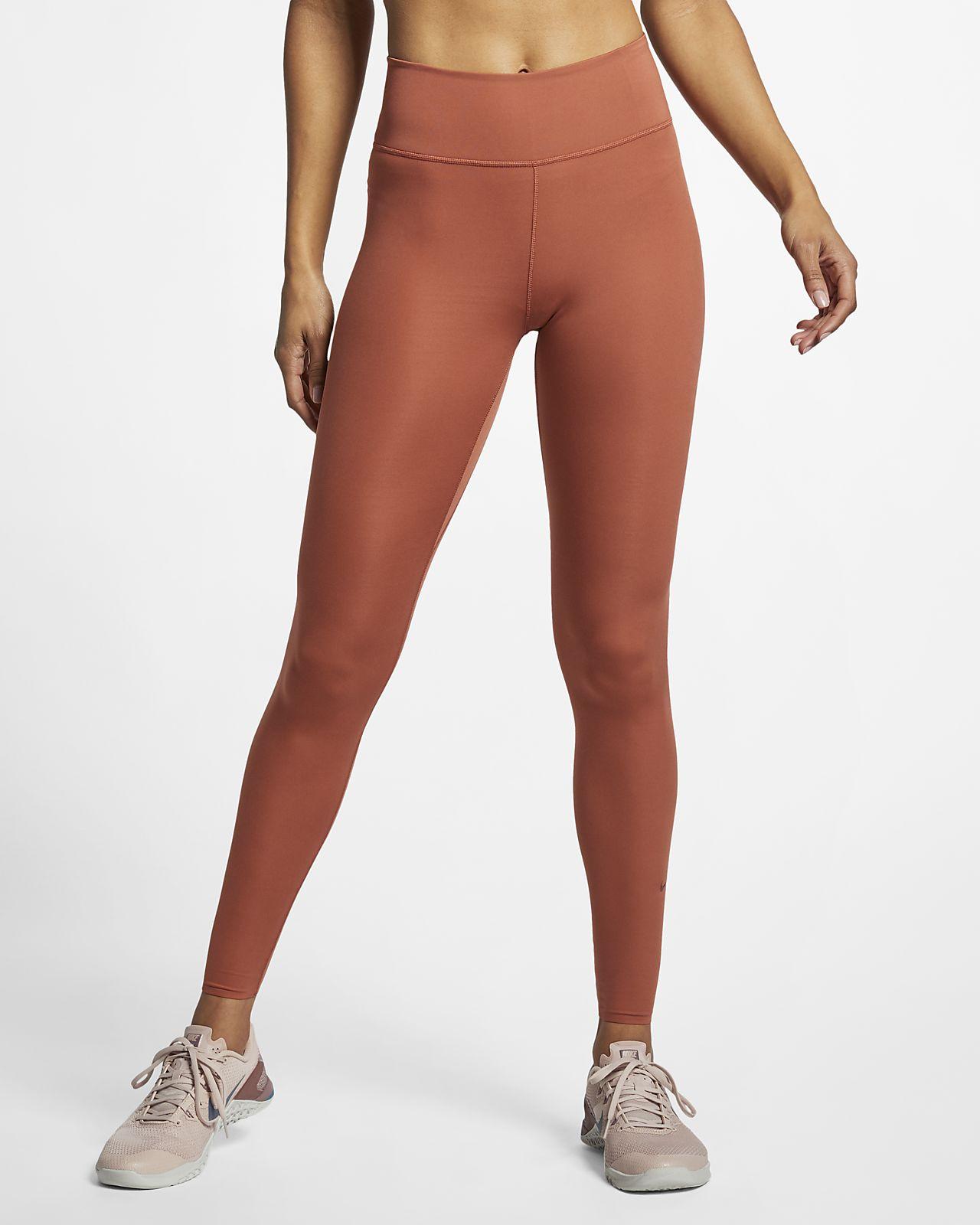 Damskie legginsy ze średnim stanem Nike One Luxe