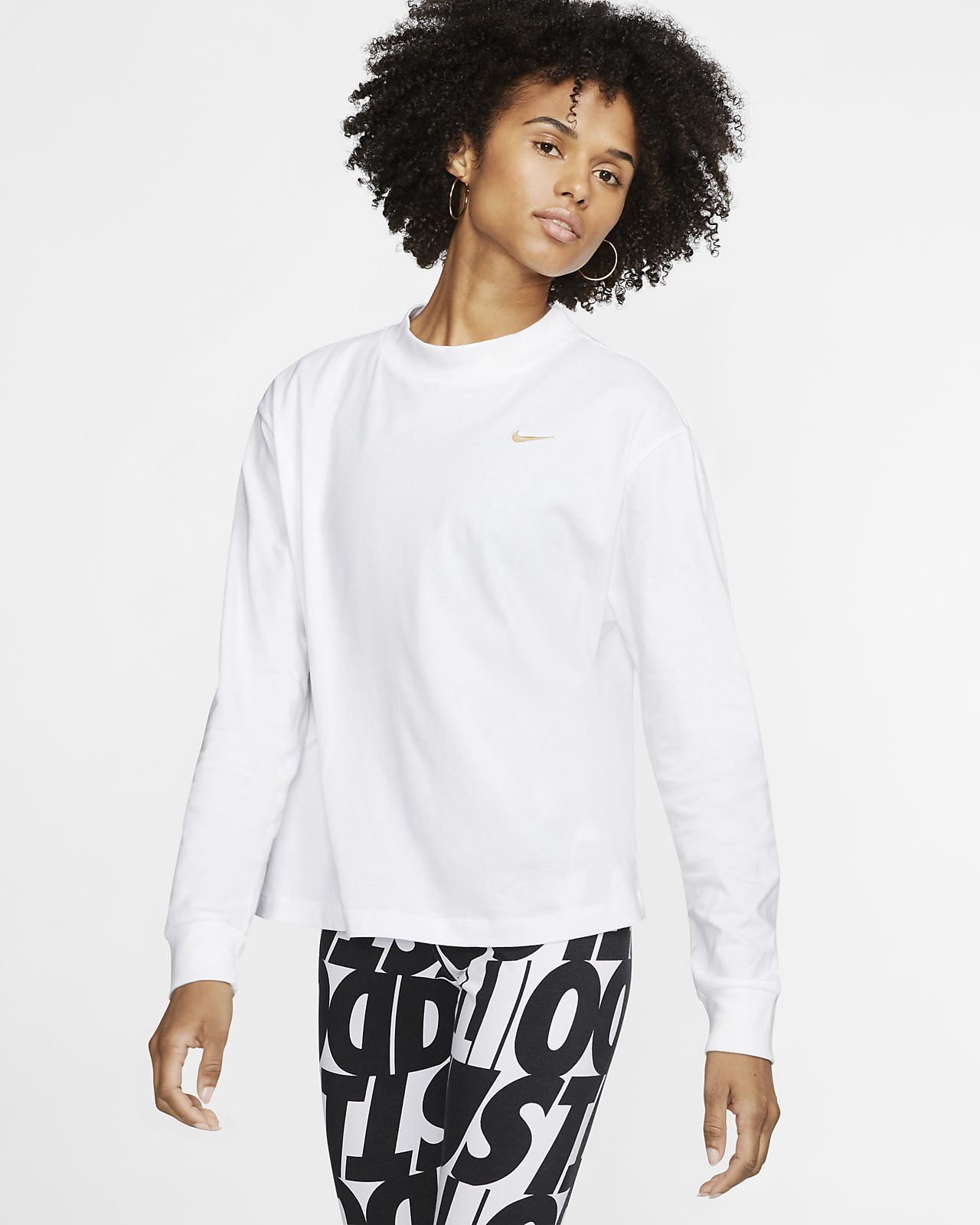 Långärmad tröja Nike Sportswear Essential för kvinnor