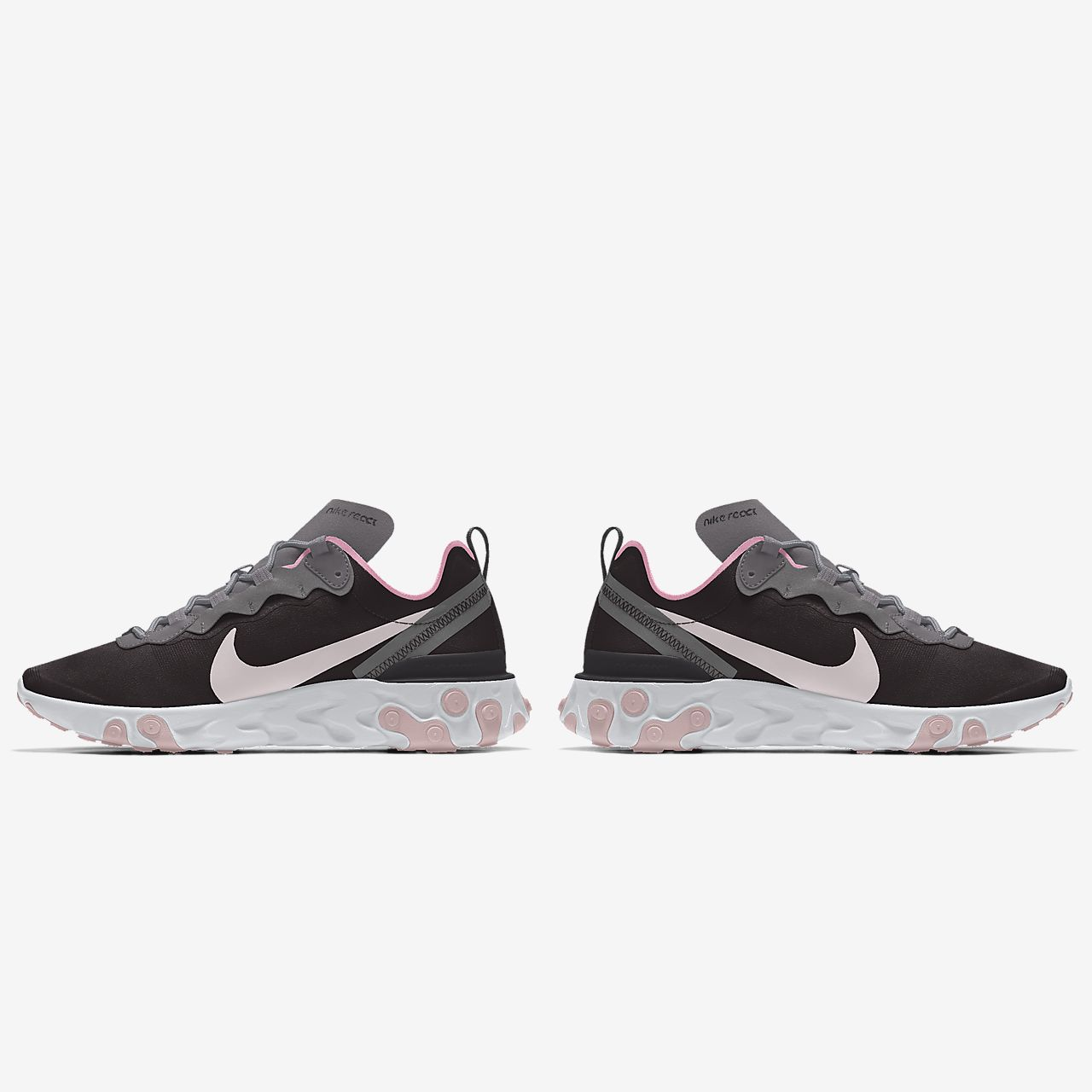 Nike React Element 55 By You tilpasset fritidssko til dame