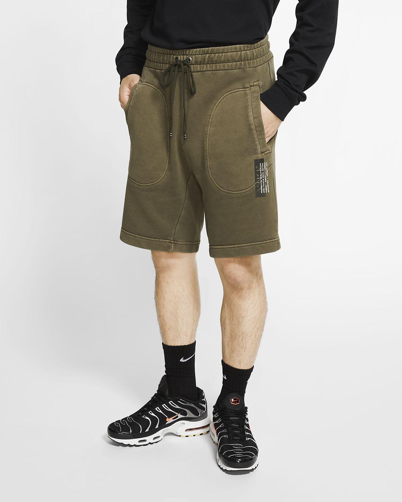 กางเกงขาสั้นผ้าเฟรนช์เทรีผู้ชาย Nike Sportswear