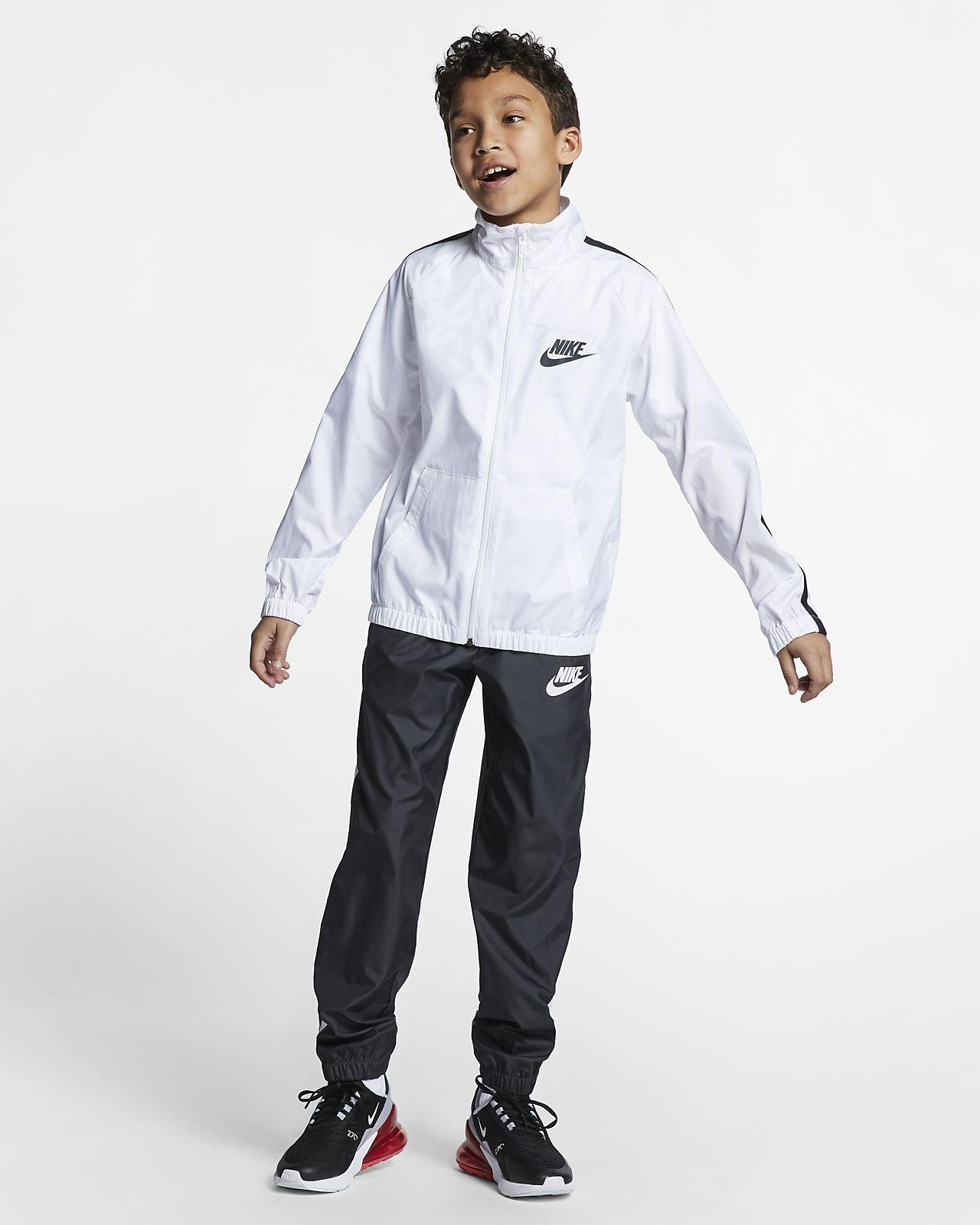 Nike Sportswear Geweven trainingspak voor kids