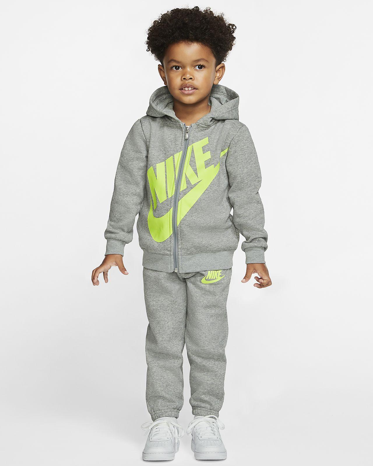 Conjunto de sudadera con capucha y pantalones para bebés Nike Sportswear