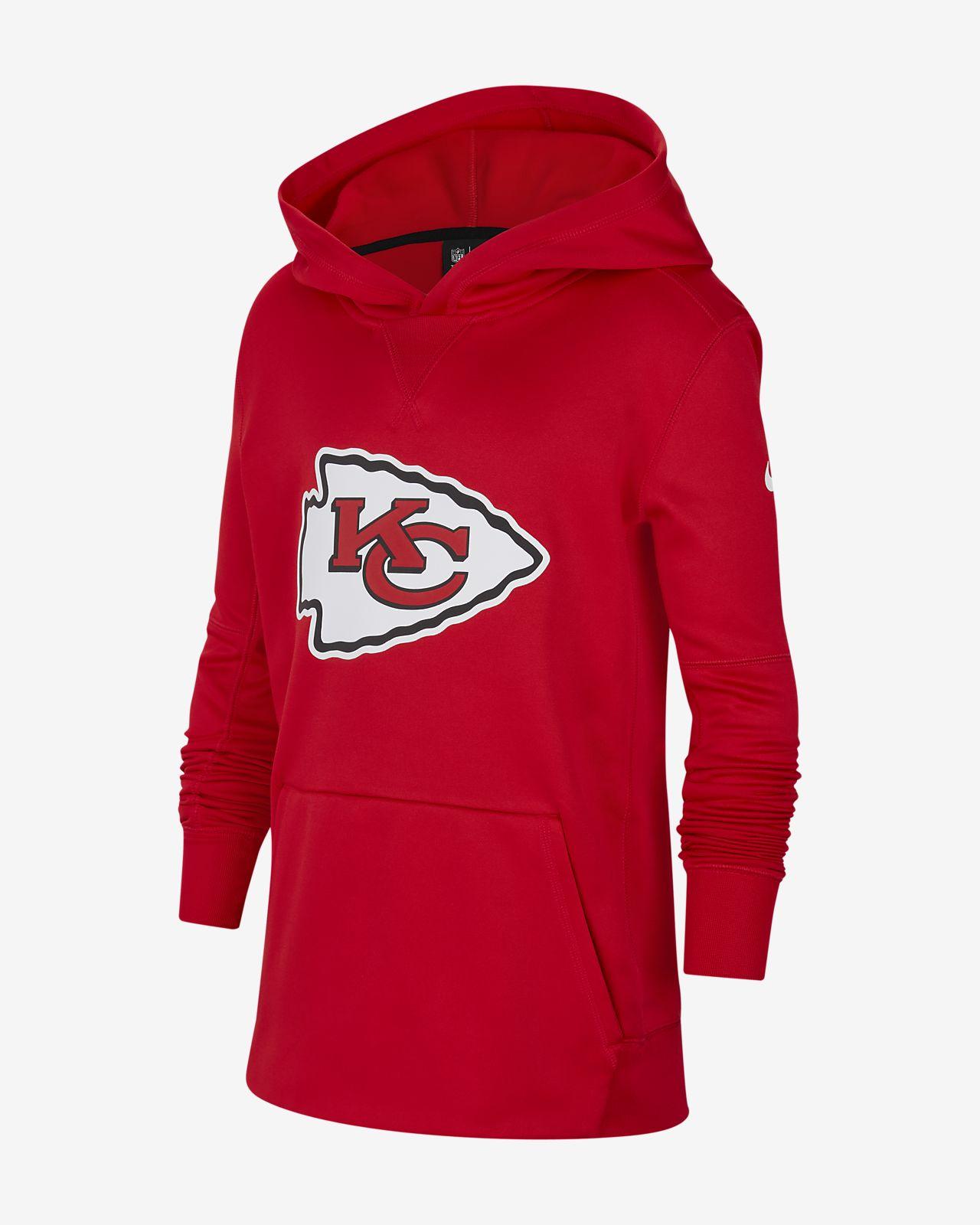 Nike (NFL Chiefs) Big Kids' Logo Hoodie