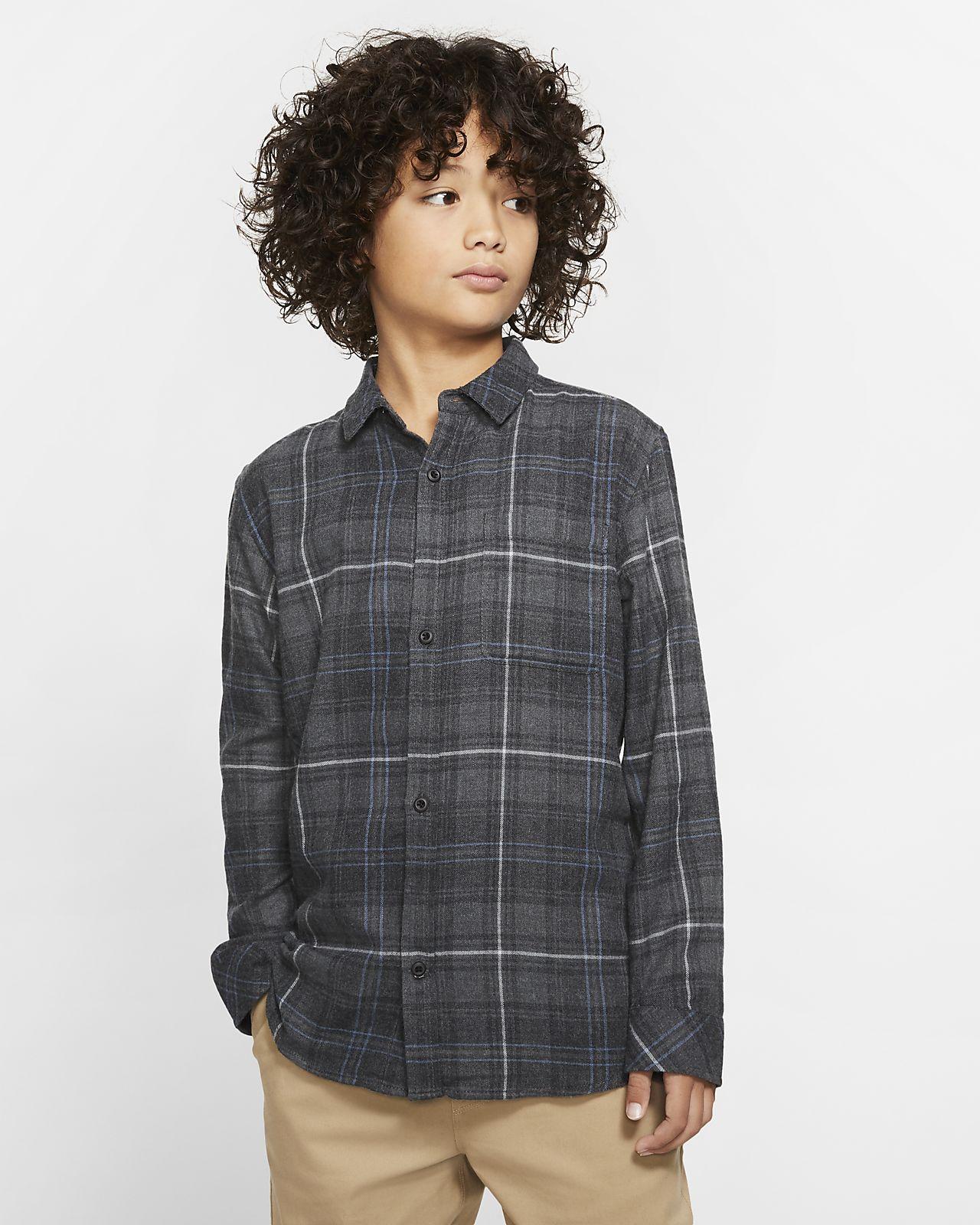 Hurley Vedder Washed Jungen-Langarmshirt