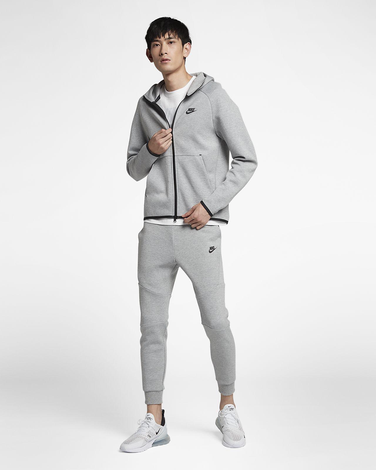 Felpa con cappuccio e zip a tutta lunghezza Nike Sportswear Tech Fleece -  Uomo. Nike CH