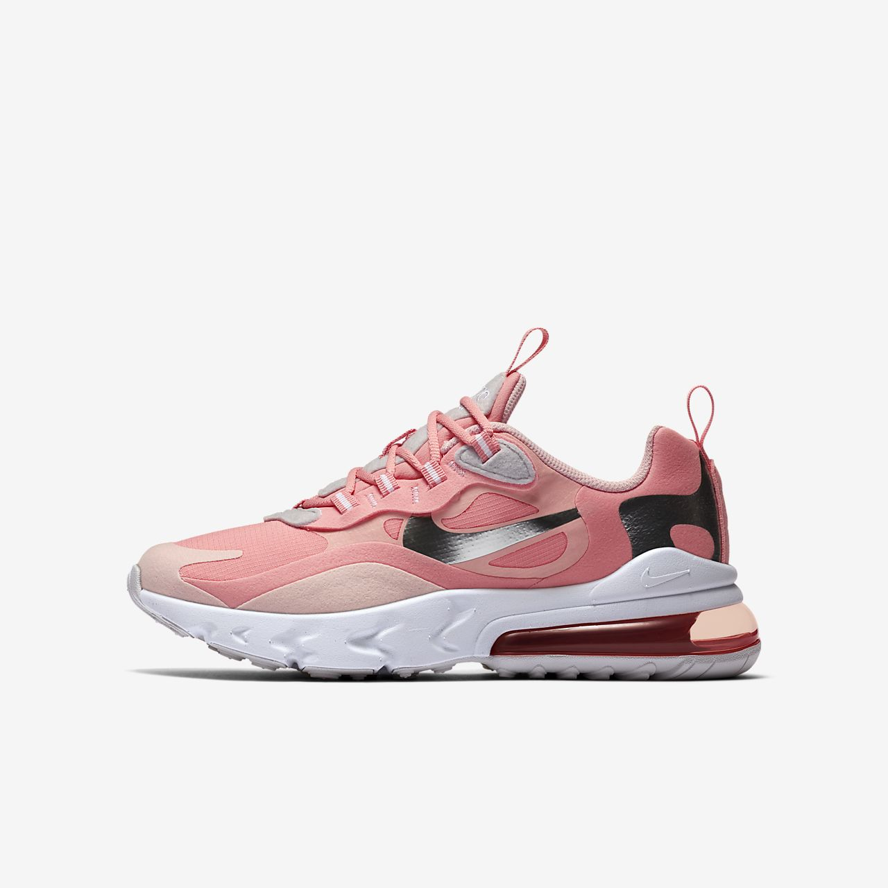 Depender de Armario ventilación  Nike Air Max 270 React Older Kids' Shoe. Nike IE